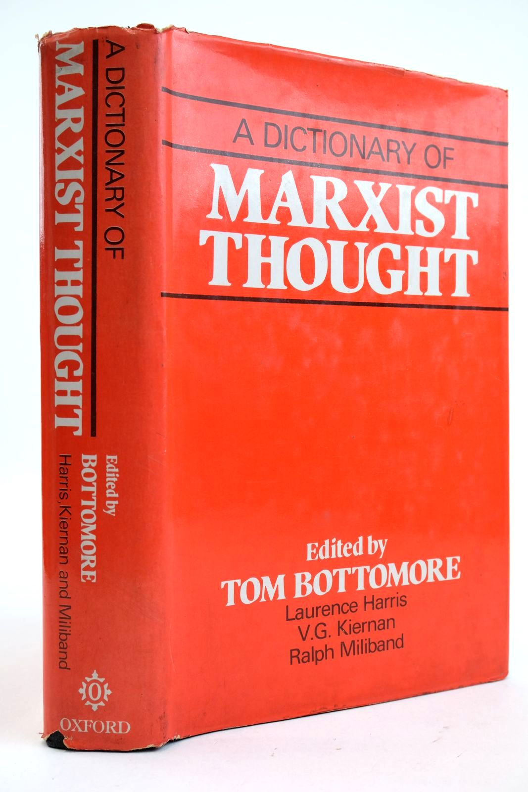Photo of A DICTIONARY OF MARXIST THOUGHT written by Bottomore, Tom et al, published by Oxford University Press (STOCK CODE: 2132937)  for sale by Stella & Rose's Books