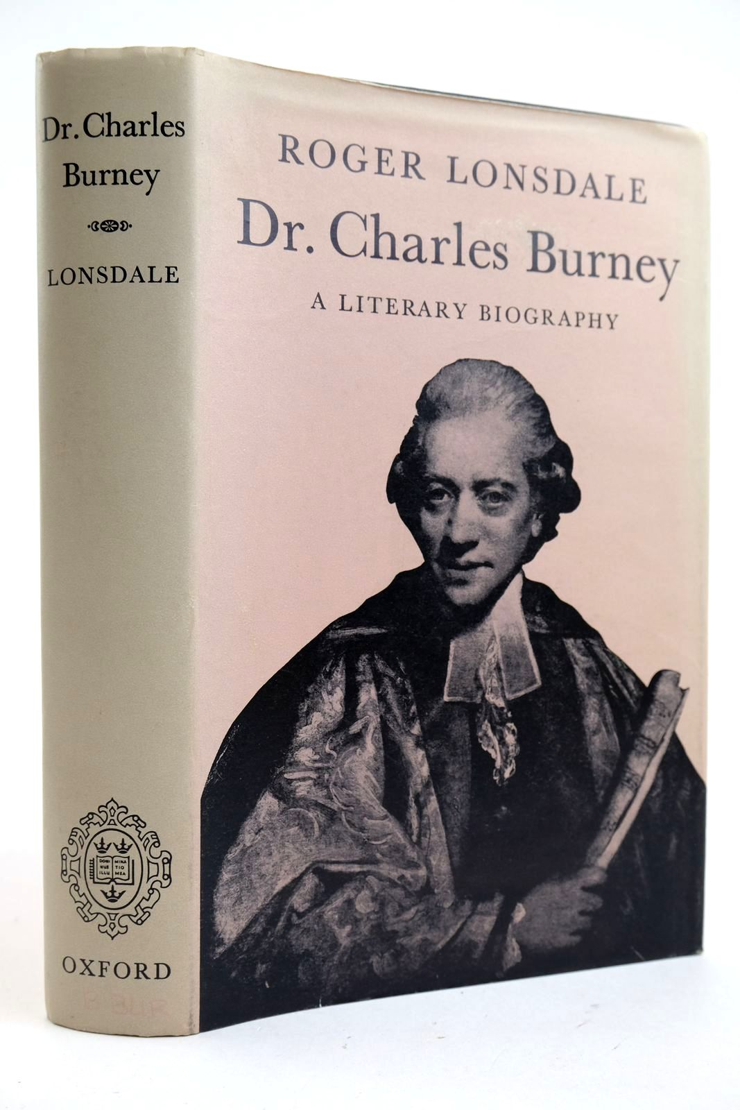 Photo of DR. CHARLES BURNEY A LITERARTY BIOGRAPHY- Stock Number: 2132942