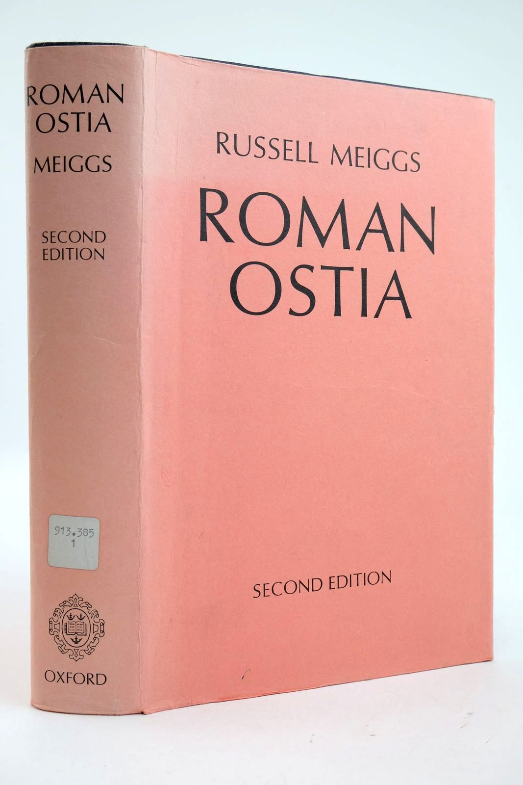 Photo of ROMAN OSTIA written by Meiggs, Russell published by Clarendon Press (STOCK CODE: 2132948)  for sale by Stella & Rose's Books