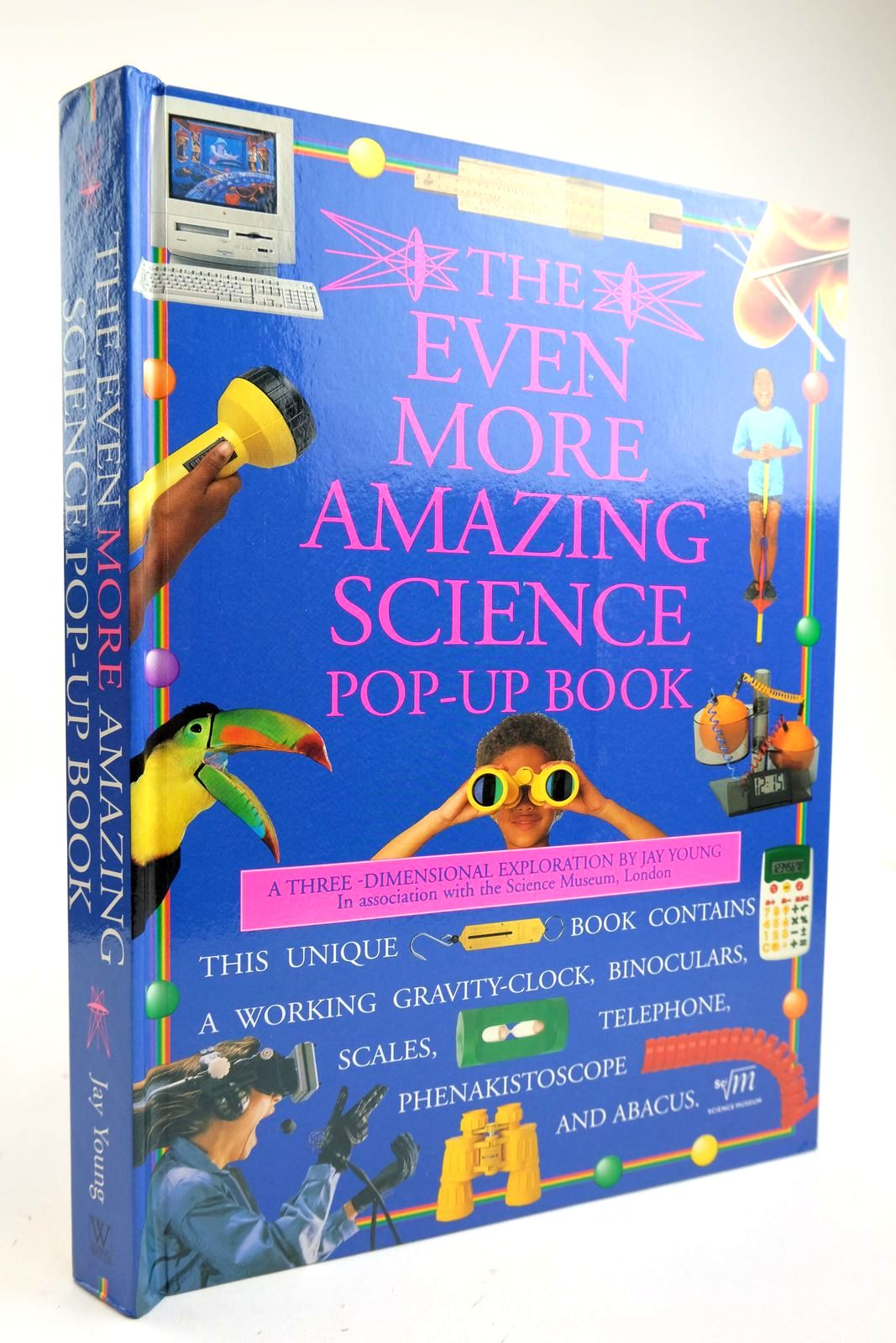 Photo of THE EVEN MORE AMAZING SCIENCE POP-UP BOOK- Stock Number: 2132954