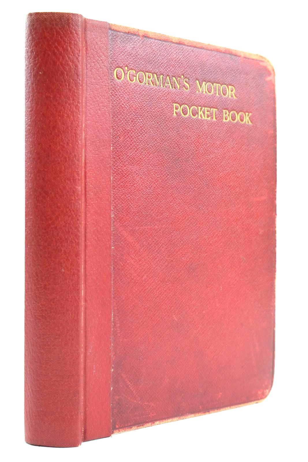 Photo of O'GORMAN'S MOTOR POCKET BOOK- Stock Number: 2132971