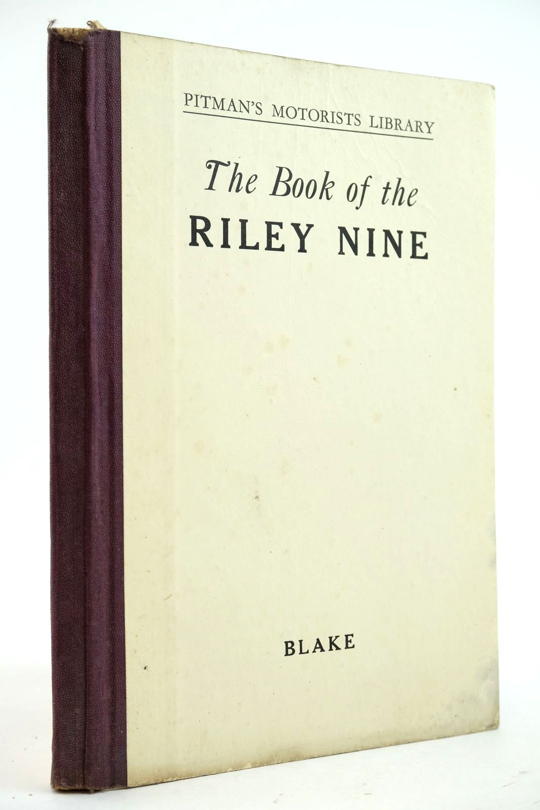 Photo of THE BOOK OF THE RILEY NINE written by Blake, R.A. published by Sir Isaac Pitman & Sons Ltd. (STOCK CODE: 2132972)  for sale by Stella & Rose's Books