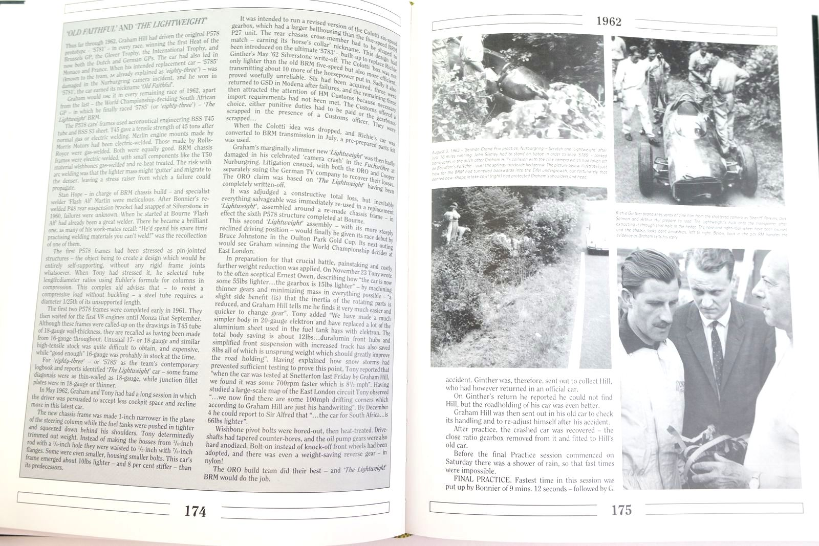 Photo of B.R.M. THE SAGA OF BRITISH RACING MOTORS VOLUME 2 written by Nye, Doug Rudd, Tony published by Motor Racing Publications Ltd. (STOCK CODE: 2132983)  for sale by Stella & Rose's Books