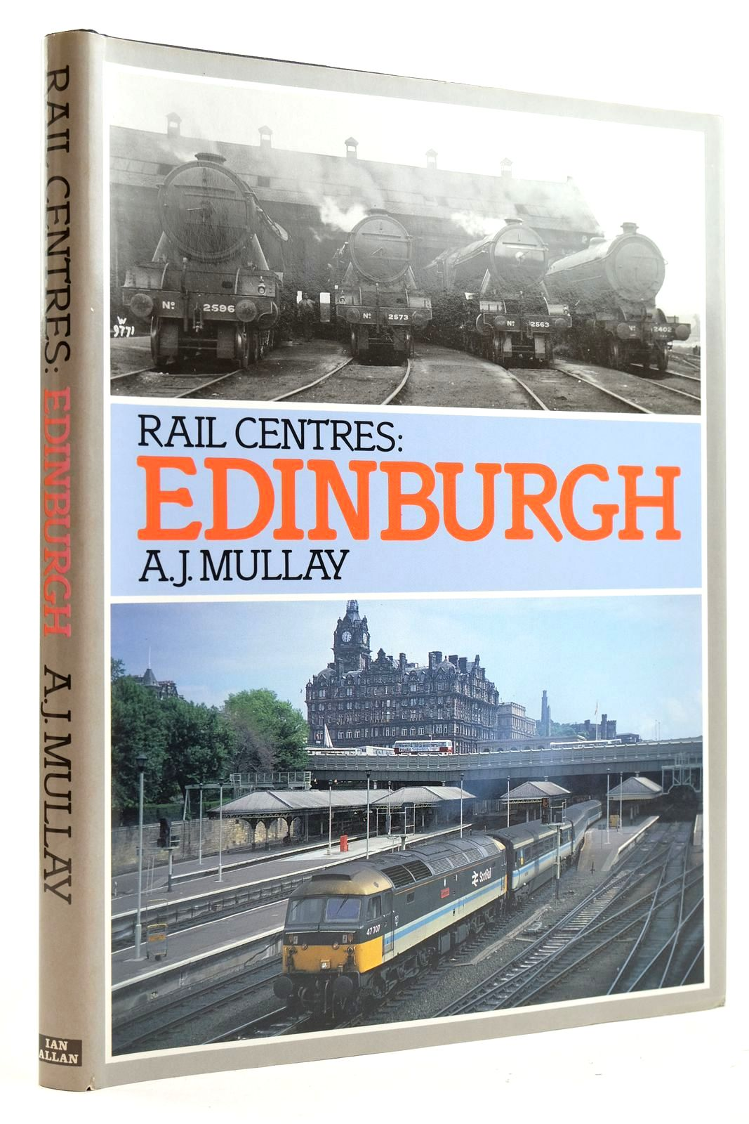 Photo of RAIL CENTRES: EDINBURGH written by Mullay, A.J. published by Ian Allan Ltd. (STOCK CODE: 2133005)  for sale by Stella & Rose's Books