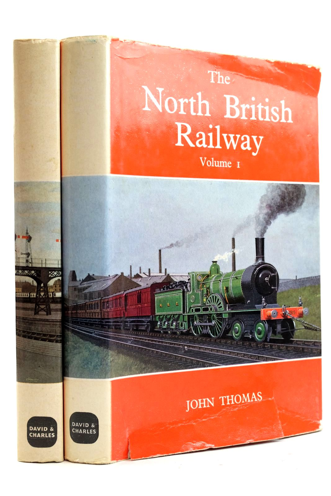 Photo of THE NORTH BRITISH RAILWAY VOLUMES ONE AND TWO written by Thomas, John published by David & Charles (STOCK CODE: 2133008)  for sale by Stella & Rose's Books