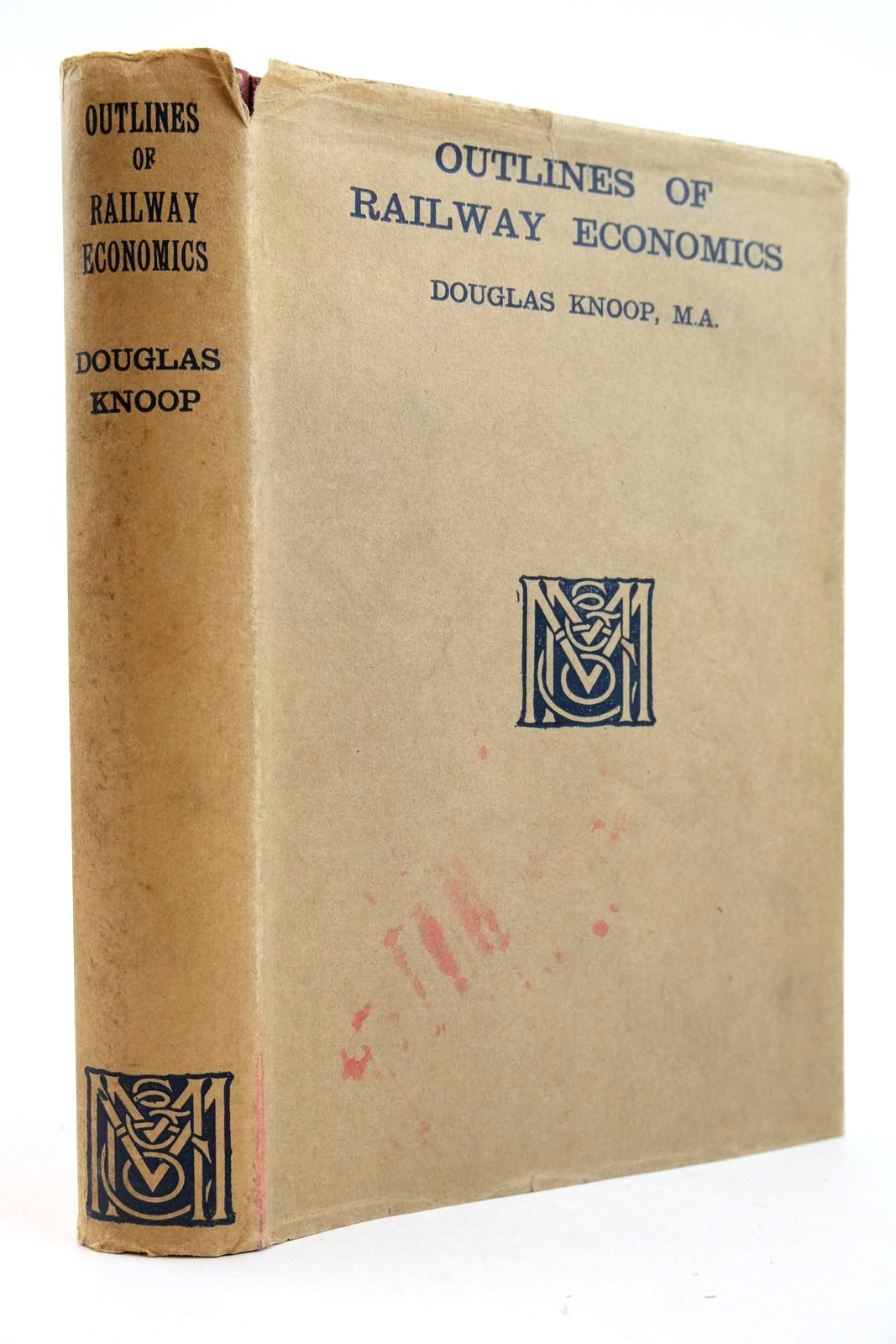 Photo of OUTLINES OF RAILWAY ECONOMICS written by Knoop, Douglas published by Macmillan & Co. Ltd. (STOCK CODE: 2133019)  for sale by Stella & Rose's Books