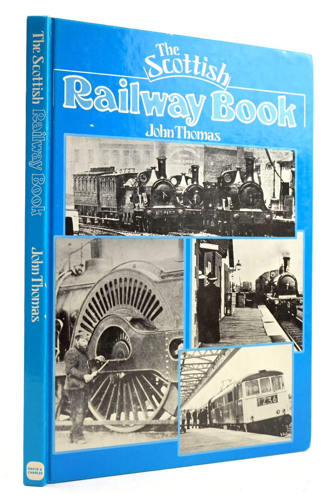 Photo of THE SCOTTISH RAILWAY BOOK- Stock Number: 2133062