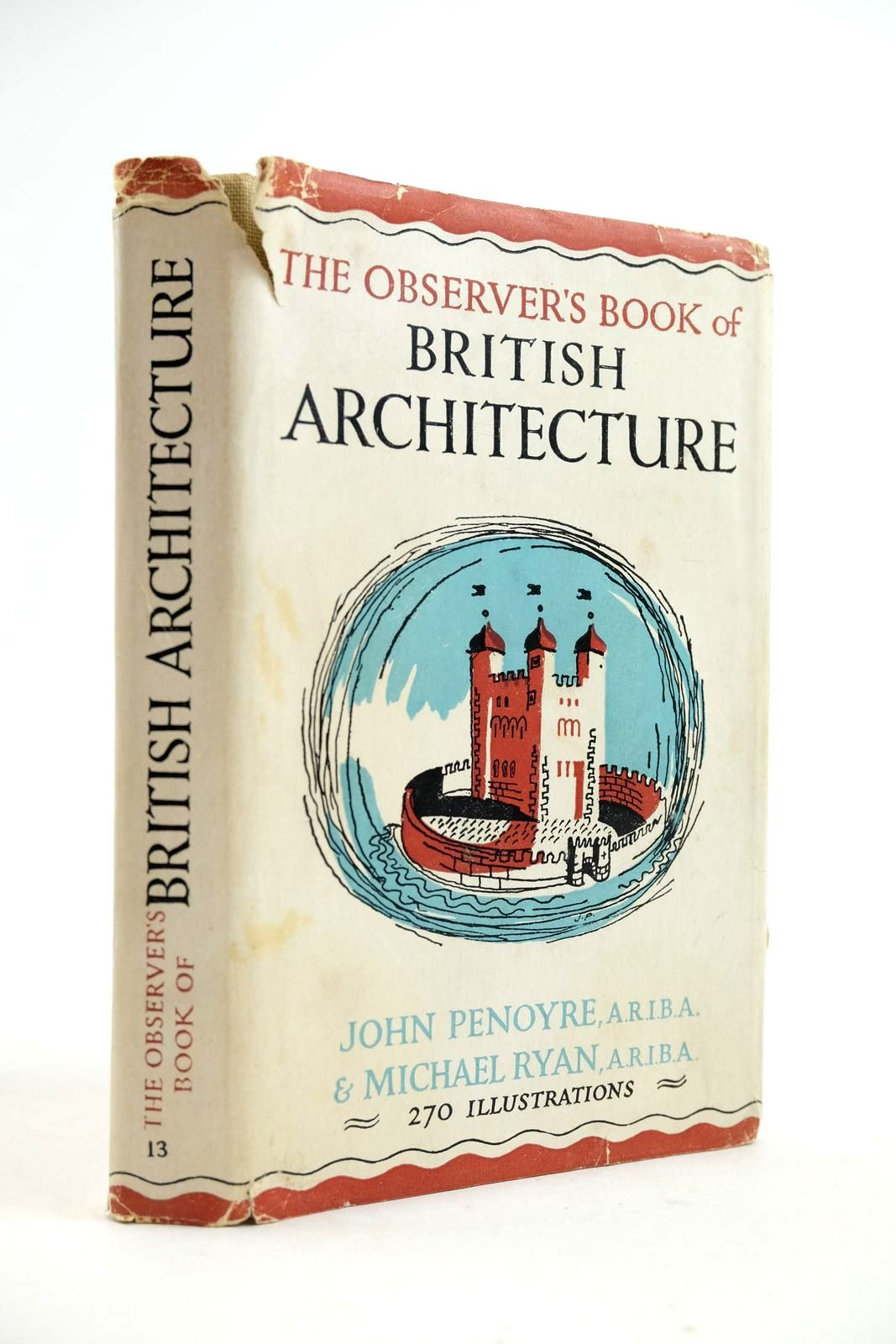 Photo of THE OBSERVER'S BOOK OF BRITISH ARCHITECTURE- Stock Number: 2133067