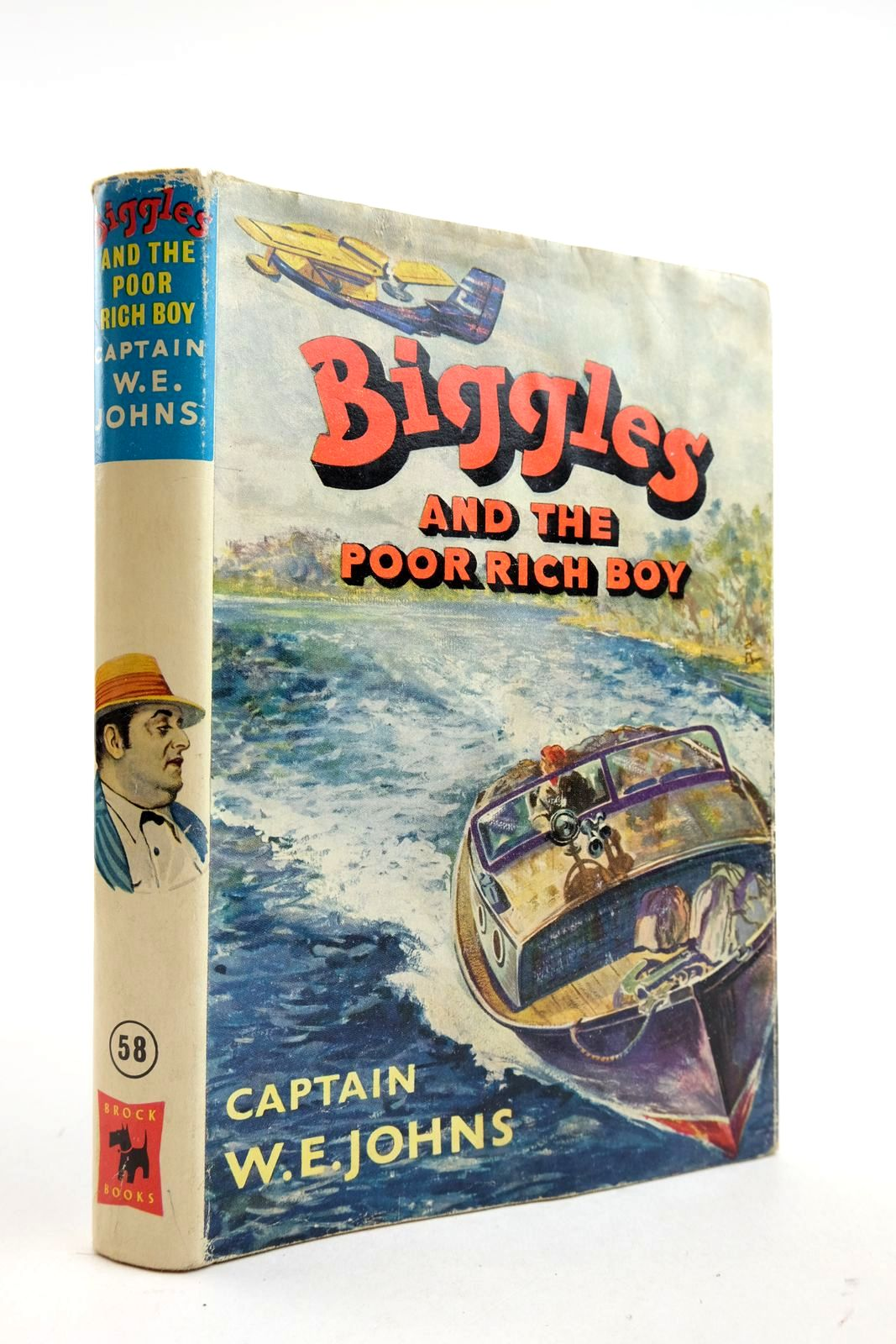 Photo of BIGGLES AND THE POOR RICH BOY- Stock Number: 2133071