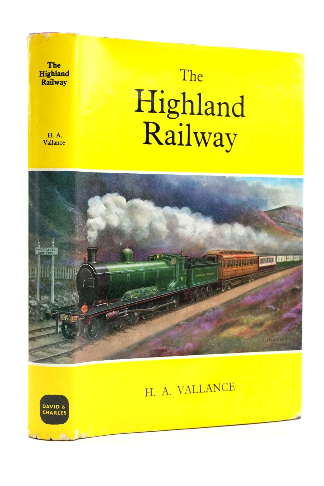 Photo of THE HIGHLAND RAILWAY written by Vallance, H.A. published by David & Charles (STOCK CODE: 2133111)  for sale by Stella & Rose's Books