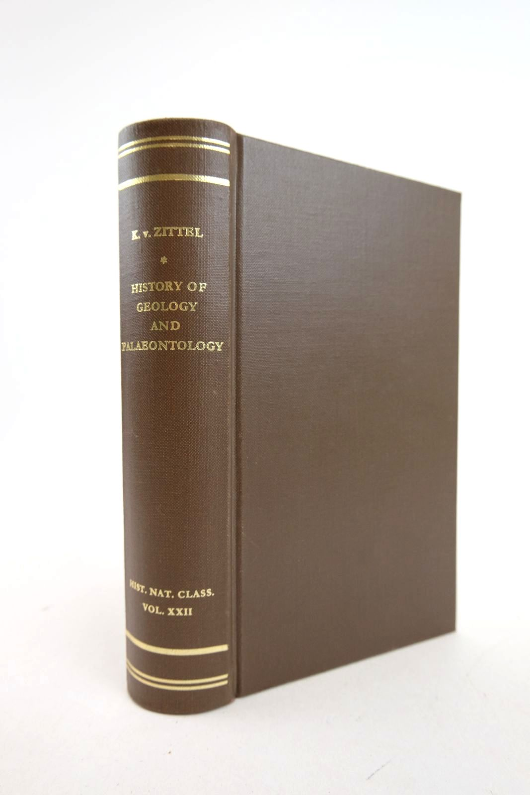 Photo of HISTORY OF GEOLOGY AND PALAEONTOLOGY written by Von Zittel, Karl A. Ogilvie-Gordon, Maria M. published by J. Cramer (STOCK CODE: 2133152)  for sale by Stella & Rose's Books