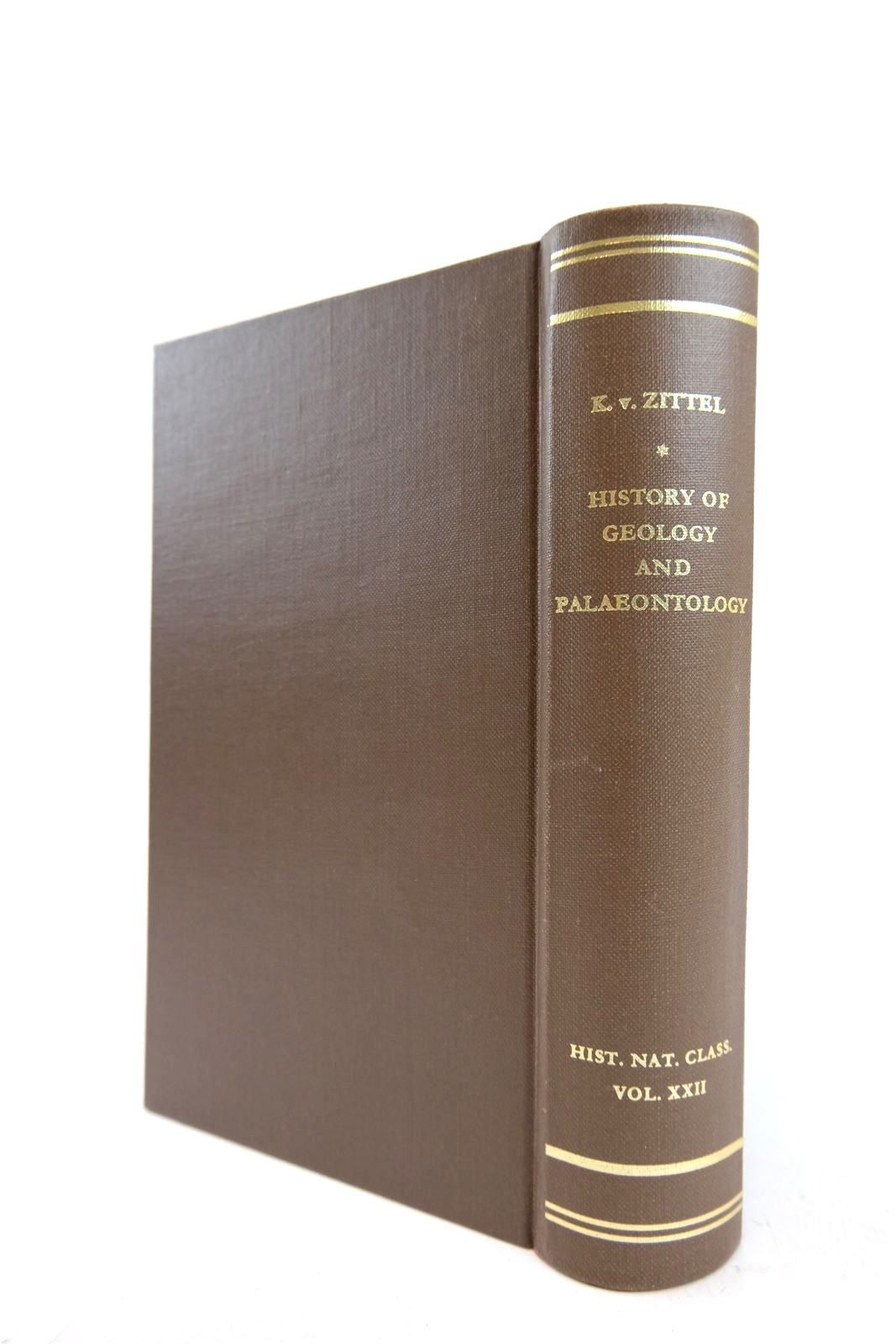 Photo of HISTORY OF GEOLOGY AND PALAEONTOLOGY written by Von Zittel, Karl A.