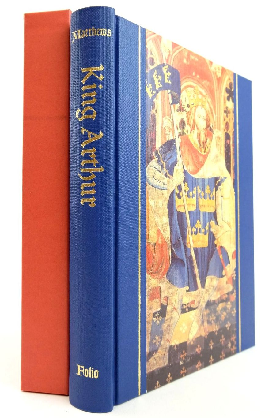 Photo of KING ARTHUR HISTORY & LEGEND written by Matthews, John Matthews, Caitlin published by Folio Society (STOCK CODE: 2133159)  for sale by Stella & Rose's Books