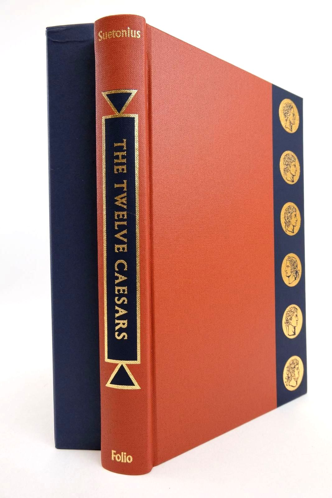 Photo of THE TWELVE CAESARS written by Tranquillus, Gaius Suetonius