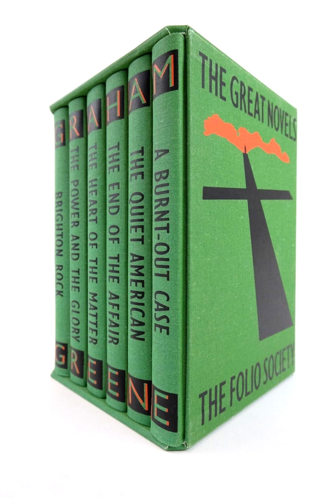 Photo of THE GREAT NOVELS written by Greene, Graham illustrated by Grandfield, Geoff published by Folio Society (STOCK CODE: 2133168)  for sale by Stella & Rose's Books