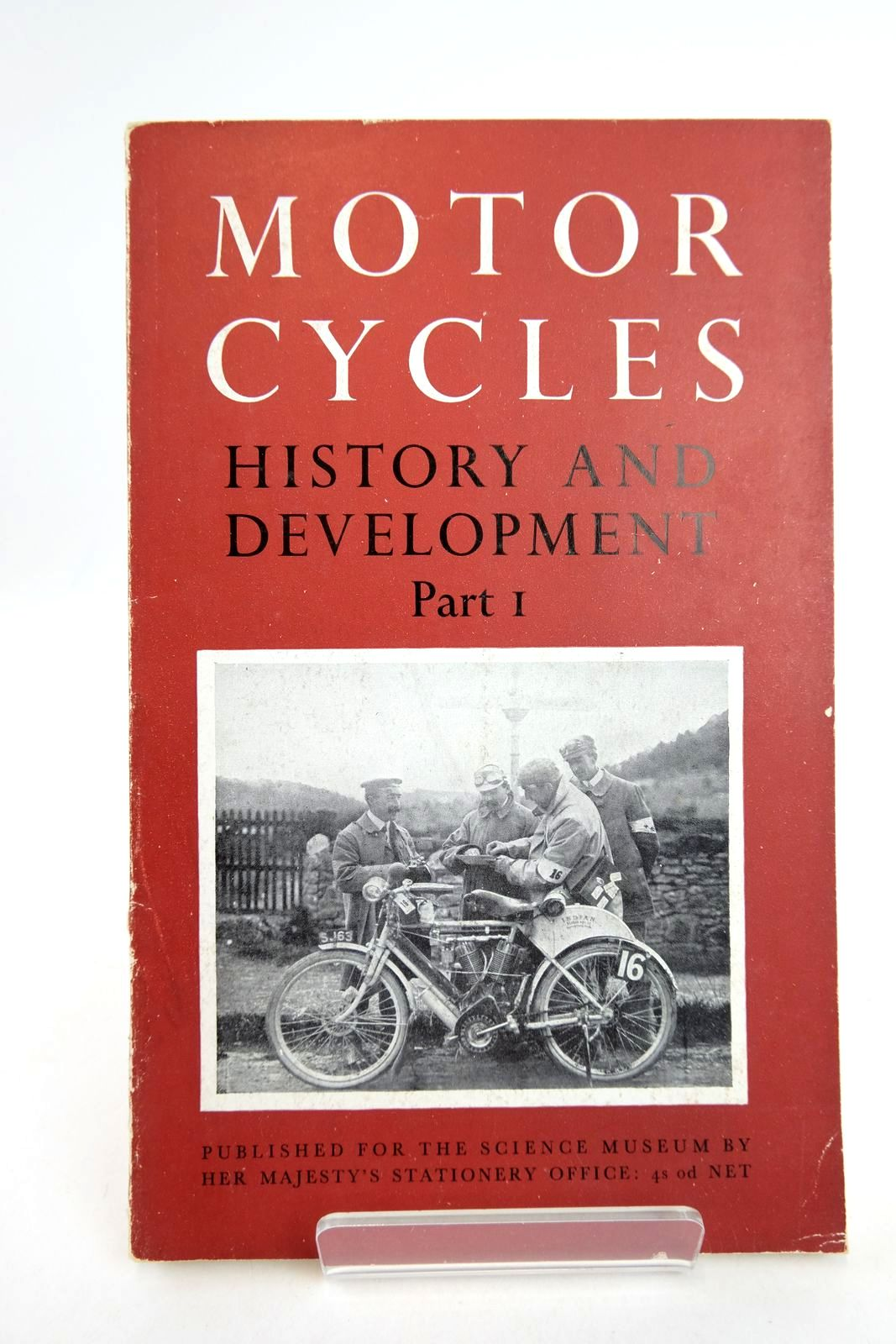 Photo of THE HISTORY AND DEVELOPMENT OF MOTORCYCLES PART I HISTORICAL SURVEY written by Caunter, C.F. published by HMSO (STOCK CODE: 2133182)  for sale by Stella & Rose's Books