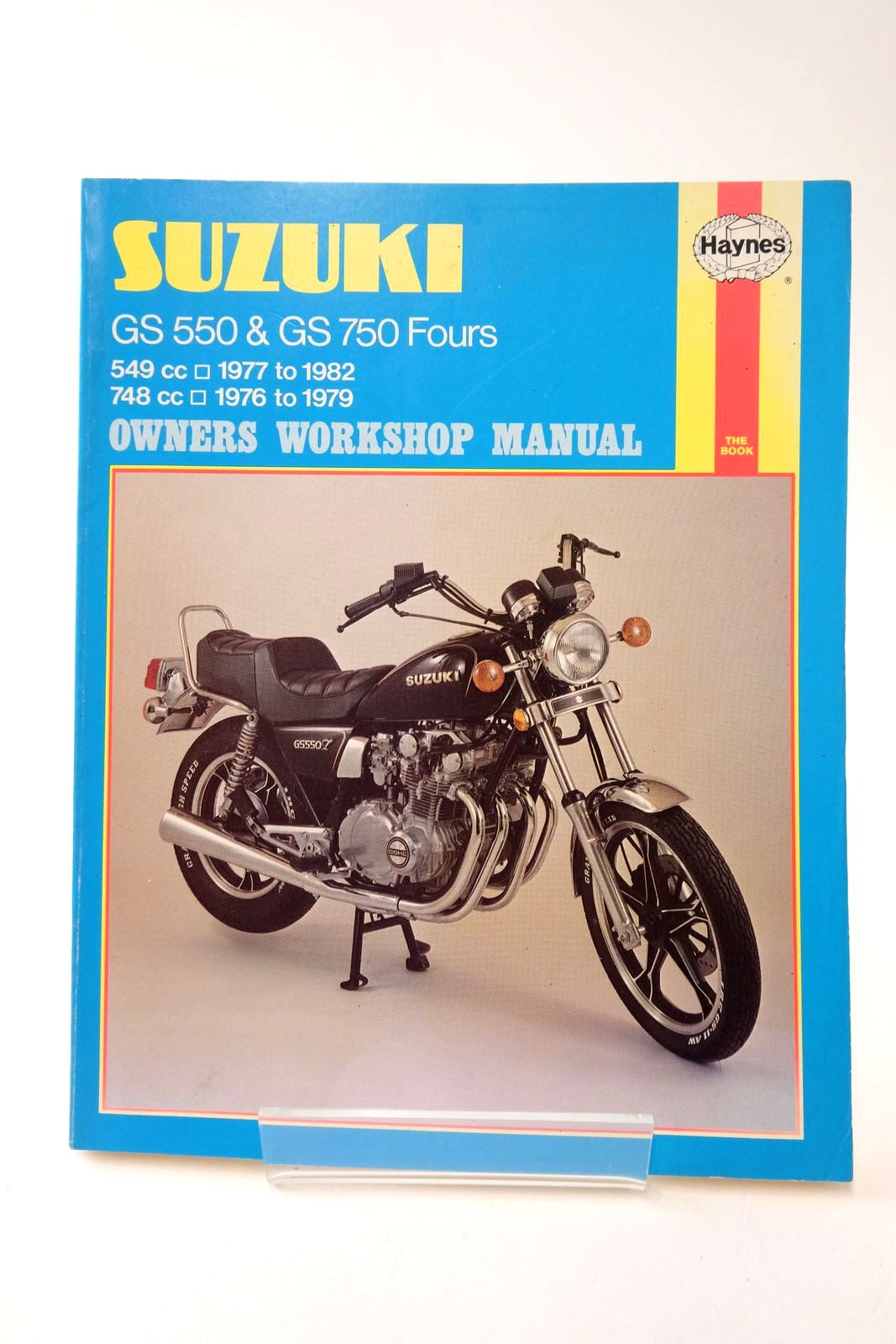 Photo of SUZUKI GS 750 AND GS 550 OWNERS WORKSHOP MANUAL- Stock Number: 2133187