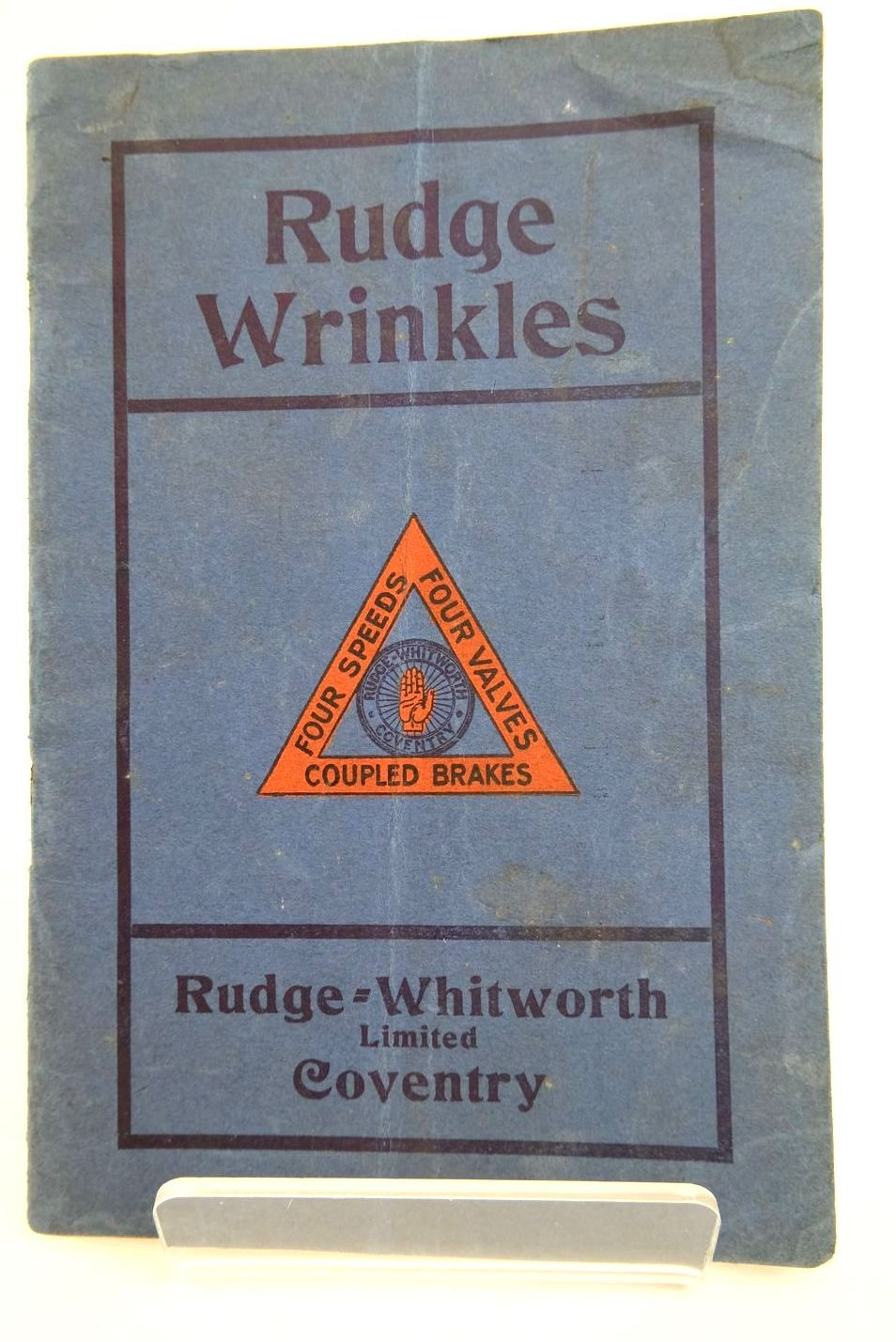 Photo of RUDGE WRINKLES published by Rudge-Whitworth Ltd. (STOCK CODE: 2133194)  for sale by Stella & Rose's Books