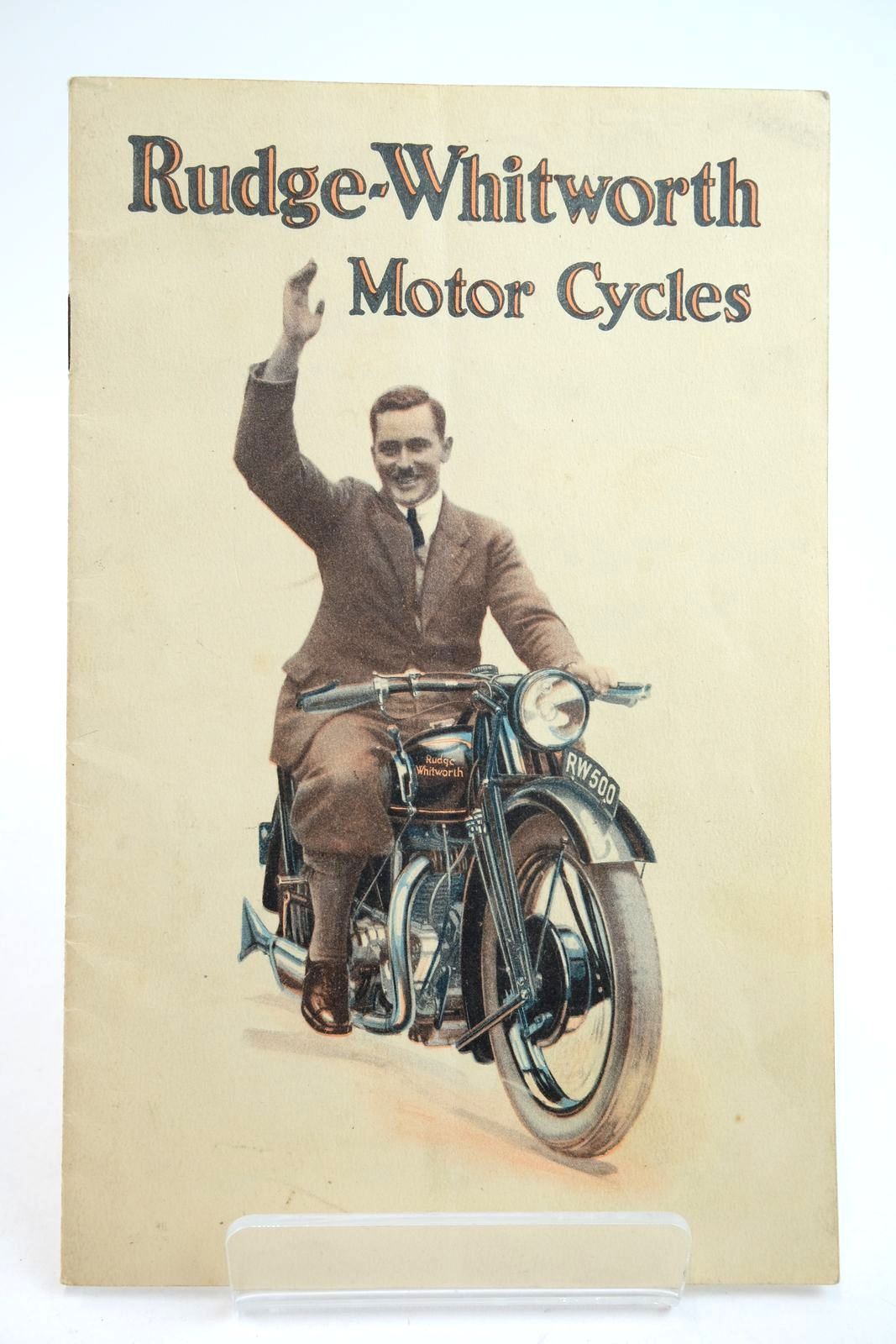 Photo of RUDGE-WHITWORTH 1929 MOTOR CYCLE CATALOGUE published by Rudge-Whitworth Ltd. (STOCK CODE: 2133202)  for sale by Stella & Rose's Books