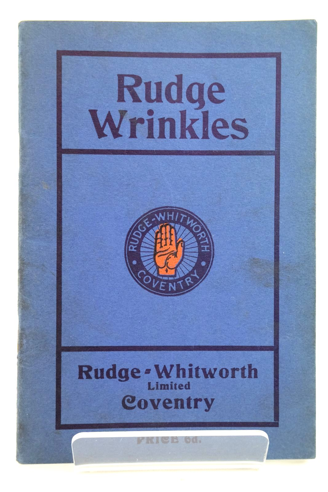 Photo of RUDGE-WRINKLES: HOW TO TAKE CARE OF YOUR RUDGE-WHITWORTH- Stock Number: 2133203