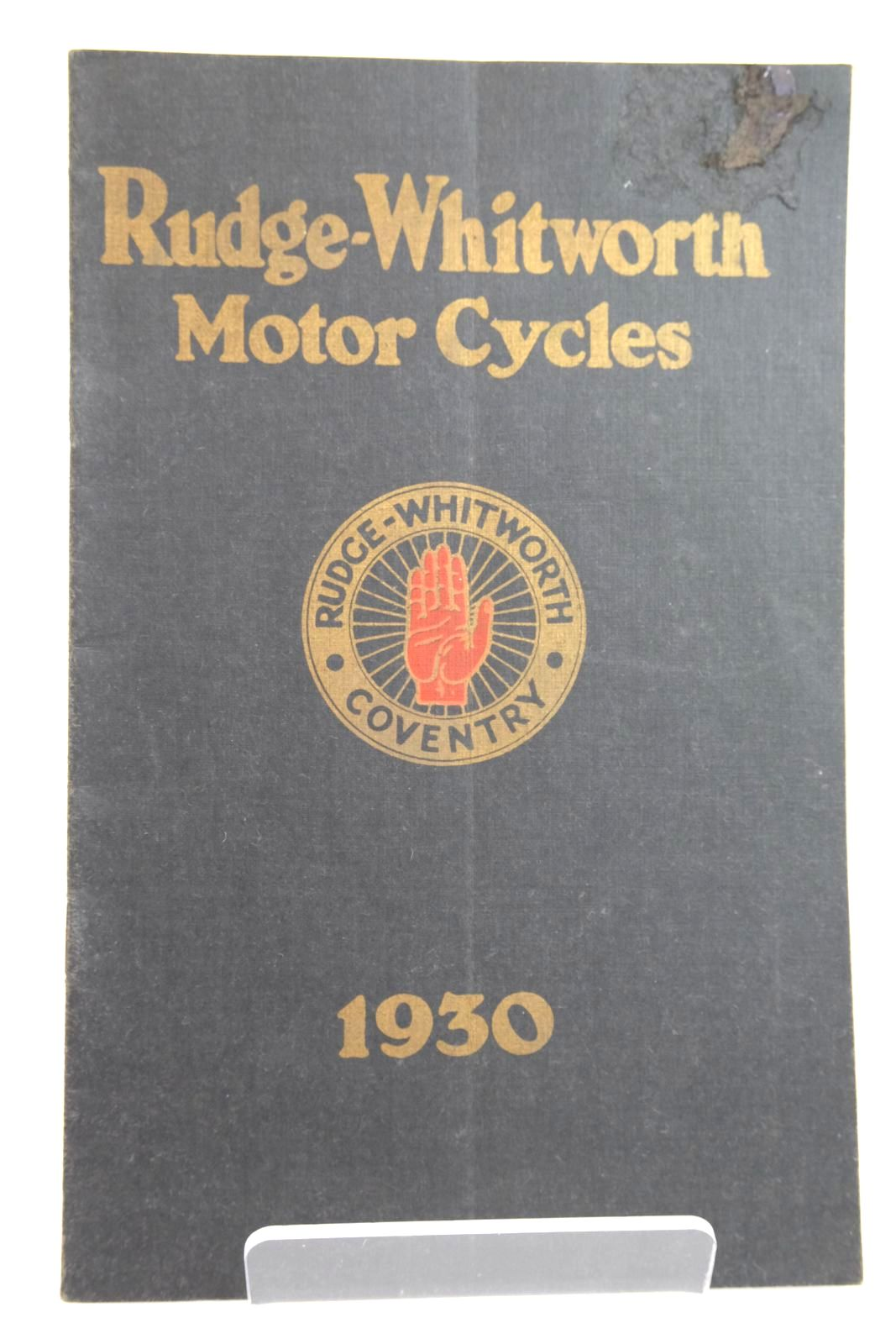 Photo of RUDGE-WHITWORTH 1930 MOTOR CYCLE CATALOGUE- Stock Number: 2133204