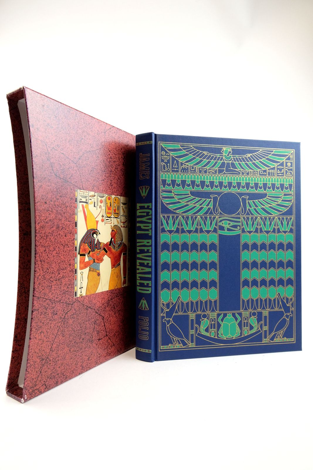 Photo of EGYPT REVEALED written by James, T.G.H. published by Folio Society (STOCK CODE: 2133216)  for sale by Stella & Rose's Books