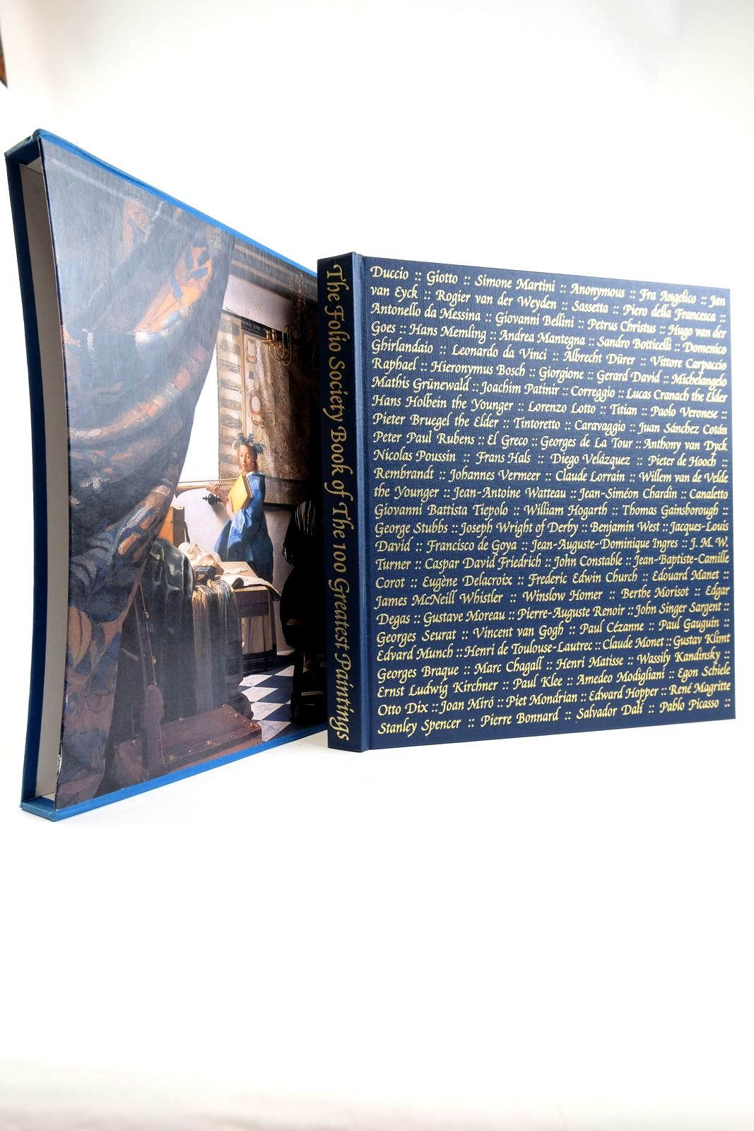 Photo of THE FOLIO SOCIETY BOOK OF THE 100 GREATEST PAINTINGS written by Bailey, Martin published by Folio Society (STOCK CODE: 2133223)  for sale by Stella & Rose's Books
