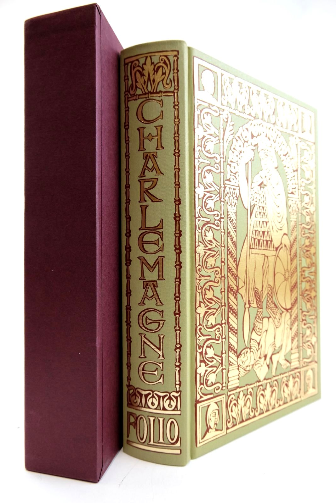 Photo of CHARLEMAGNE FATHER OF A CONTINENT written by Barbero, Alessandro Cameron, Allan published by Folio Society (STOCK CODE: 2133224)  for sale by Stella & Rose's Books