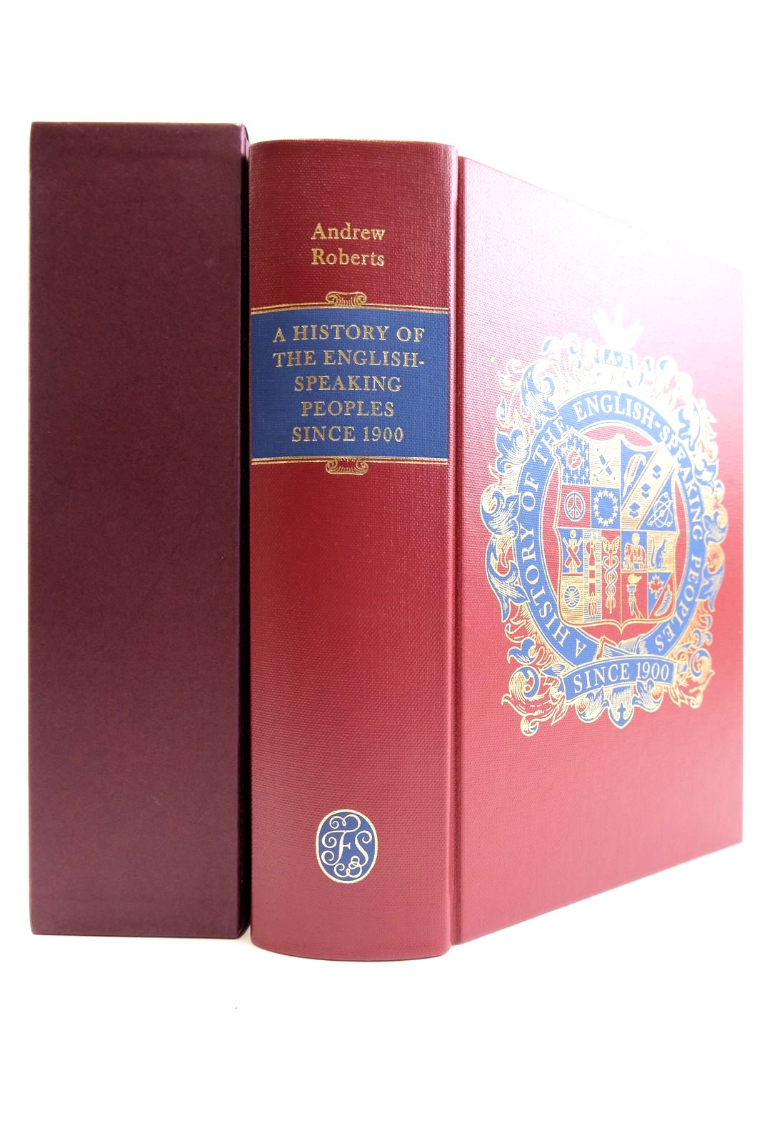 Photo of A HISTORY OF ENGLISH-SPEAKING PEOPLES SINCE 1900- Stock Number: 2133234