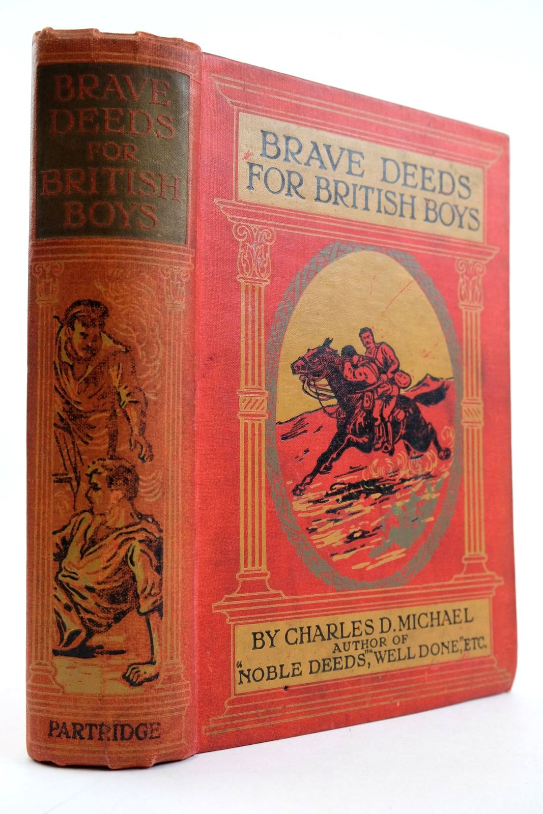 Photo of BRAVE DEEDS FOR BRITISH BOYS written by Michael, Charles published by S. W. Partridge & Co. (STOCK CODE: 2133242)  for sale by Stella & Rose's Books