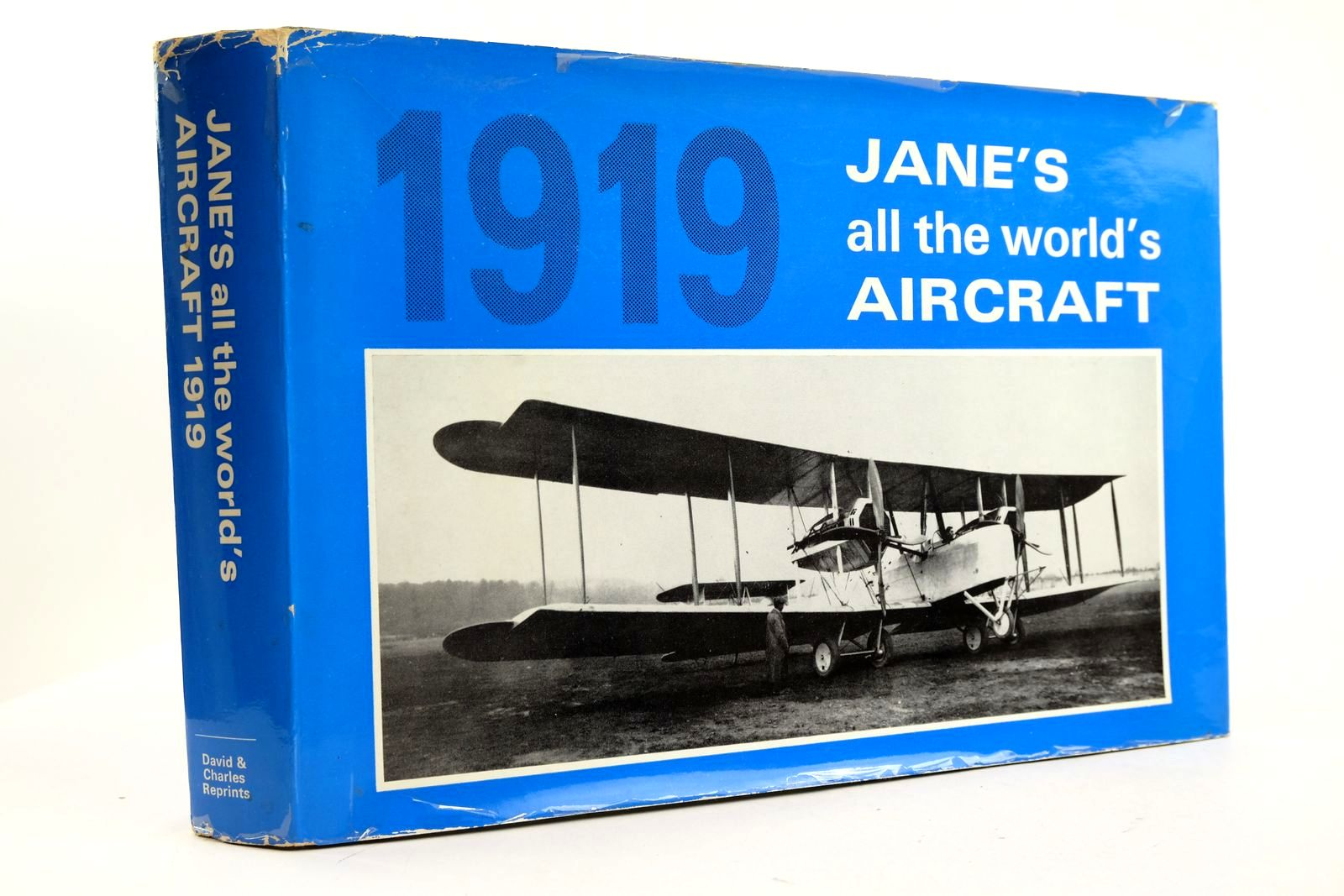 Photo of JANE'S ALL THE WORLD'S AIRCRAFT 1919 written by Grey, C.G. published by David & Charles (STOCK CODE: 2133248)  for sale by Stella & Rose's Books