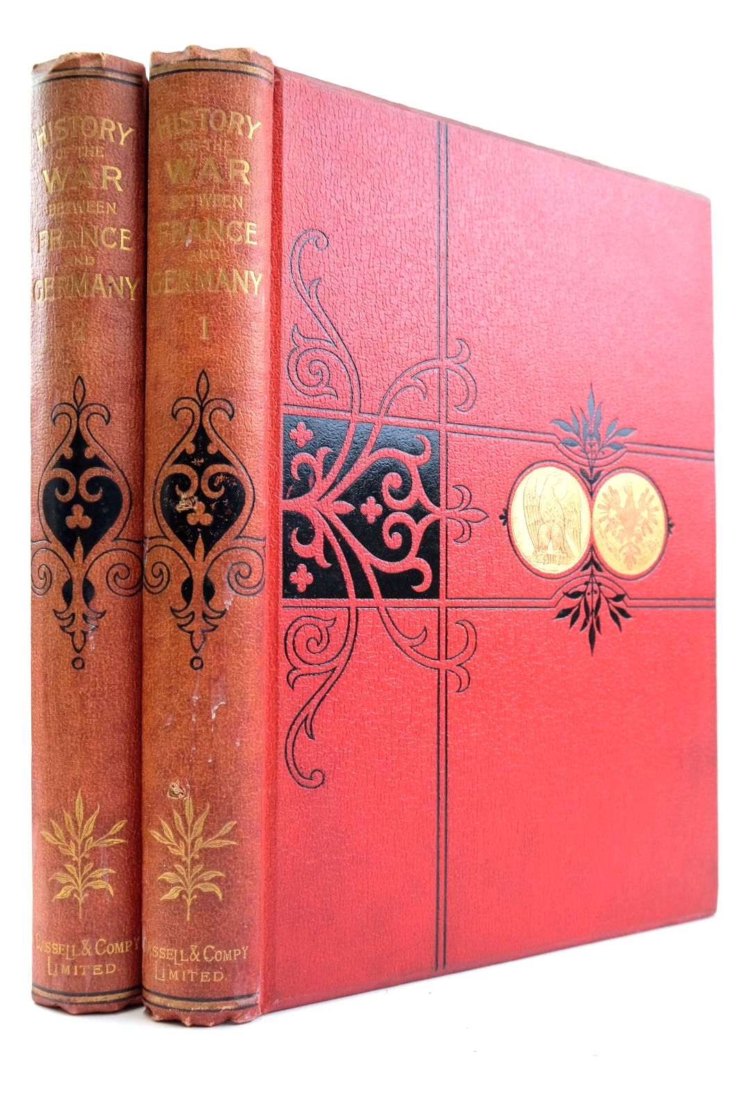 Photo of CASSELL'S HISTORY OF THE WAR BETWEEN FRANCE AND GERMANY 1870 - 1871 (2 VOLUMES)- Stock Number: 2133252