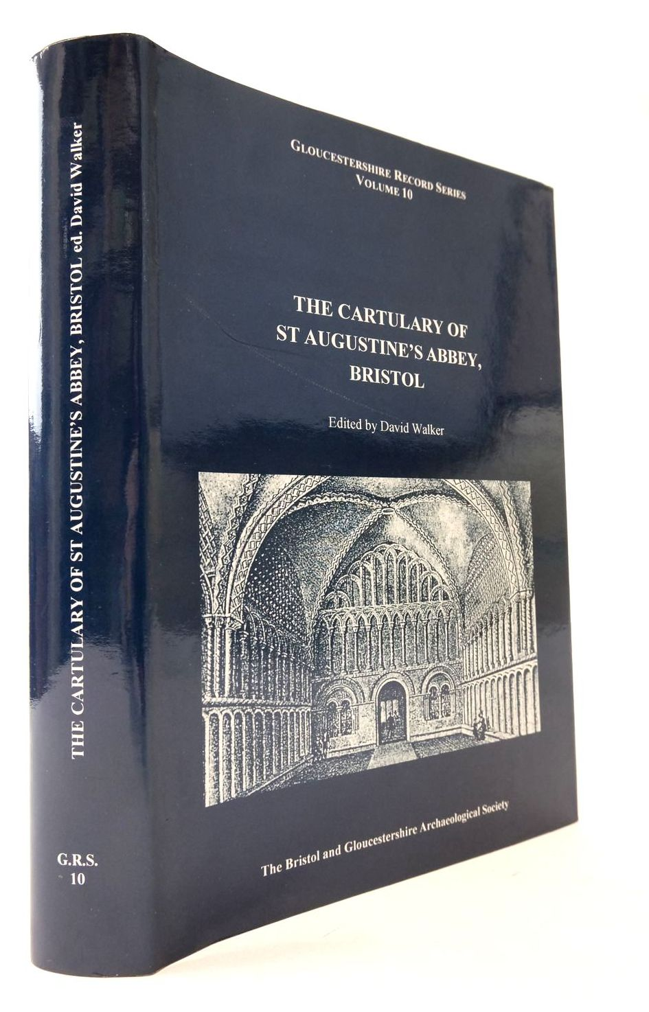 Photo of THE CARTULARY OF ST AUGUSTINE'S ABBEY BRISTOL- Stock Number: 2133260