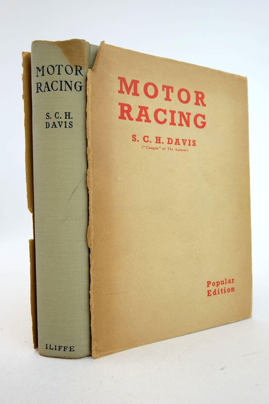 Photo of MOTOR RACING written by Davis, S.C.H. published by Iliffe & Sons Limited (STOCK CODE: 2133273)  for sale by Stella & Rose's Books