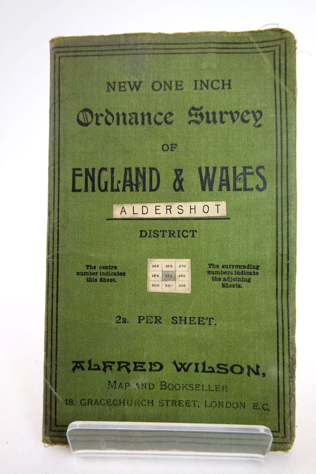 Photo of NEW ONE INCH ORDNANCE SURVEY OF ENGLAND & WALES ALDERSHOT DISTRICT published by Bartholomew (STOCK CODE: 2133280)  for sale by Stella & Rose's Books