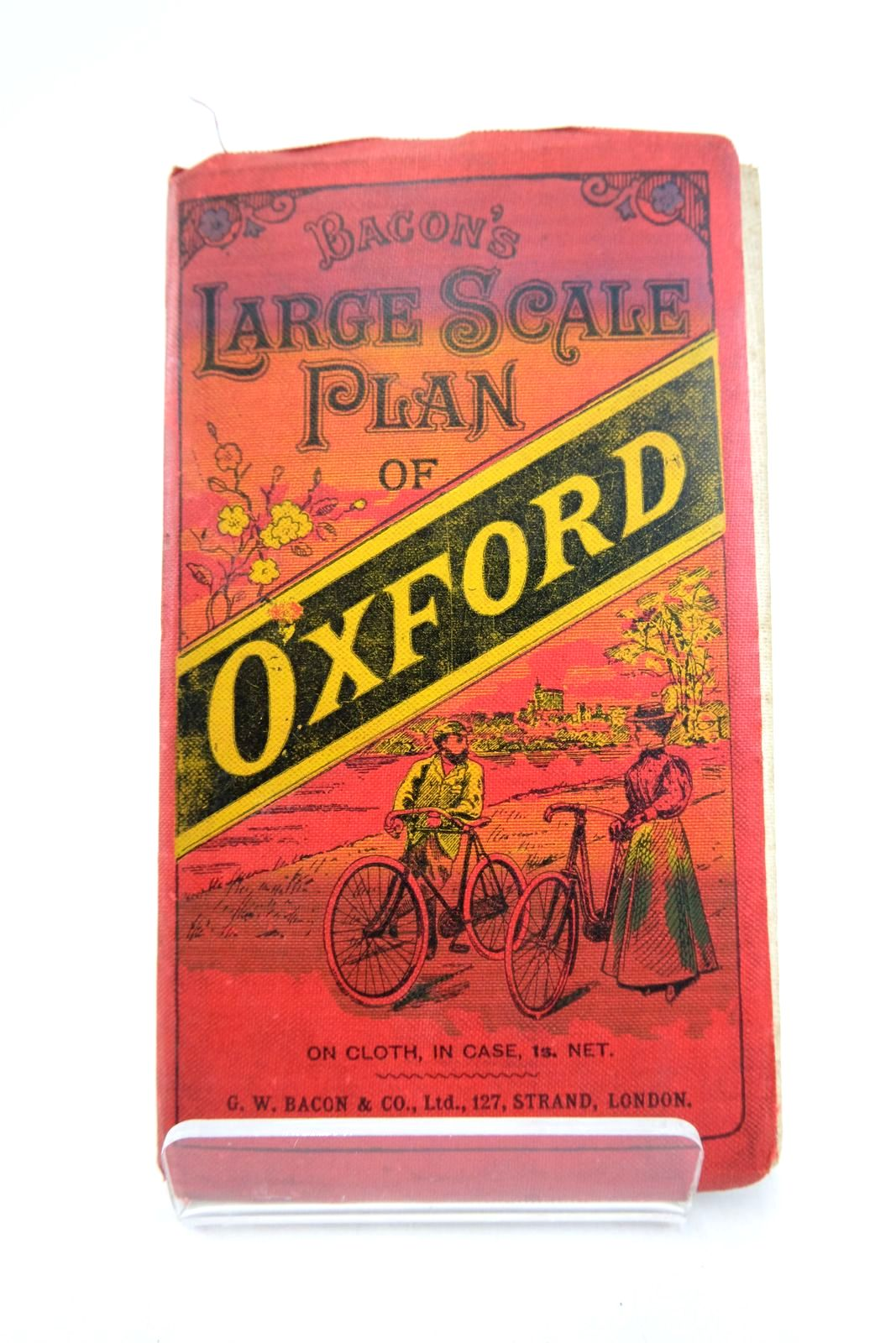 Photo of BACON'S LARGE SCALE PLAN OF OXFORD- Stock Number: 2133283