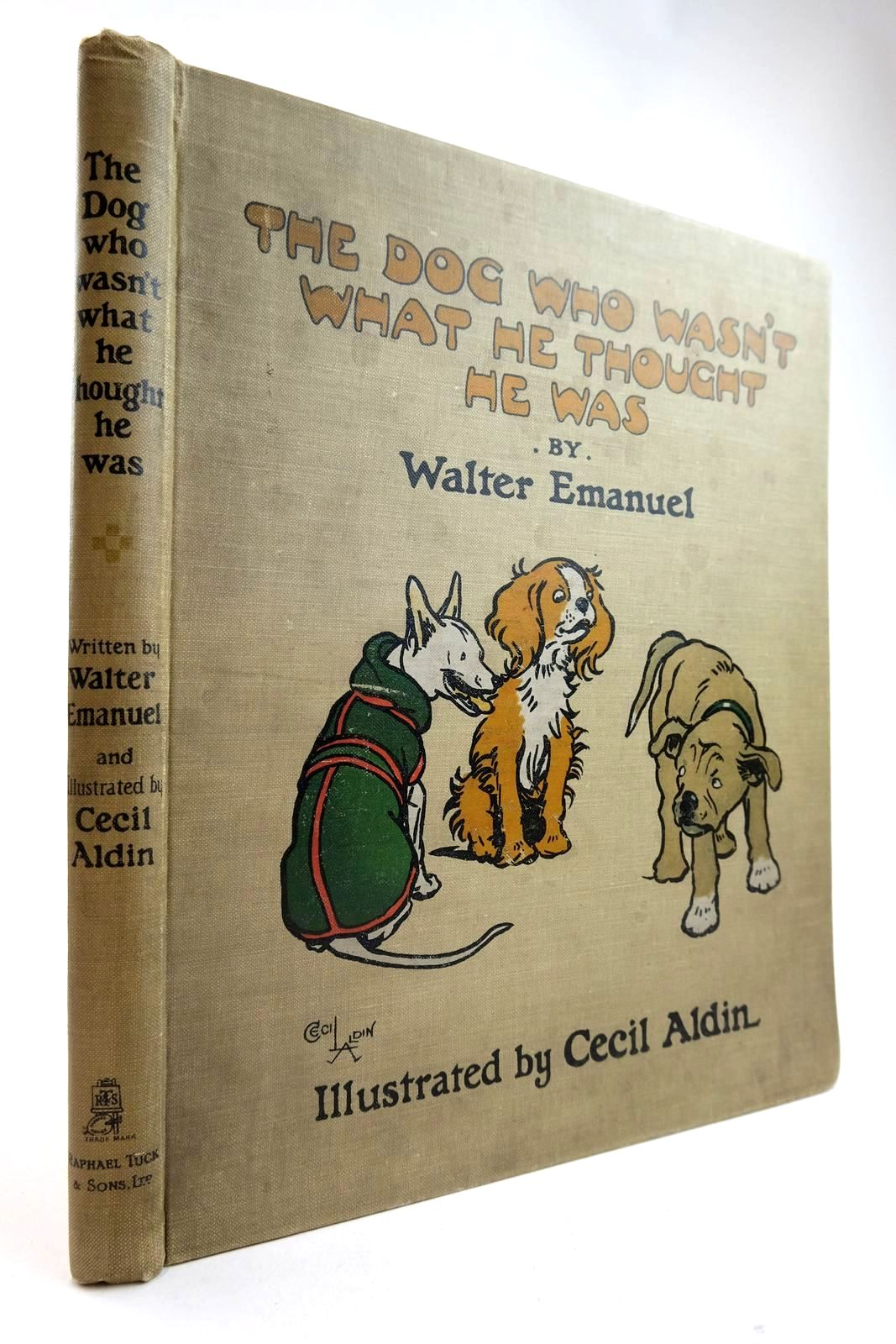 Photo of THE DOG WHO WASN'T WHAT HE THOUGHT HE WAS written by Emanuel, Walter illustrated by Aldin, Cecil published by Raphael Tuck & Sons Ltd. (STOCK CODE: 2133293)  for sale by Stella & Rose's Books