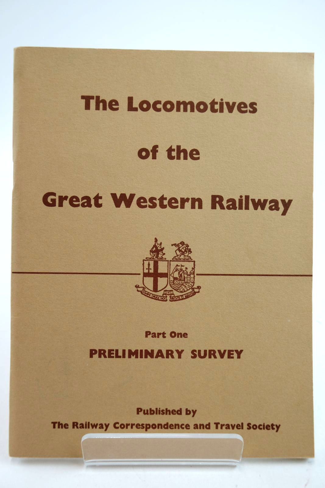 Photo of THE LOCOMOTIVES OF THE GREAT WESTERN RAILWAY PART ONE published by The Railway Correspondence And Travel Society (STOCK CODE: 2133328)  for sale by Stella & Rose's Books
