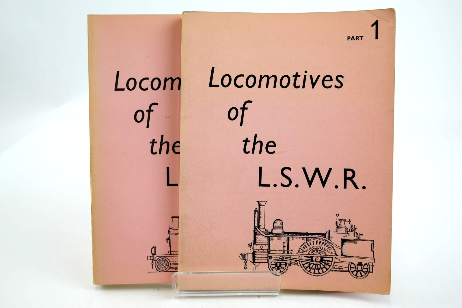 Photo of LOCOMOTIVES OF THE LONDON AND SOUTH WESTERN RAILWAY (2 VOLUMES) written by Bradley, D.L. published by The Railway Correspondence And Travel Society (STOCK CODE: 2133331)  for sale by Stella & Rose's Books
