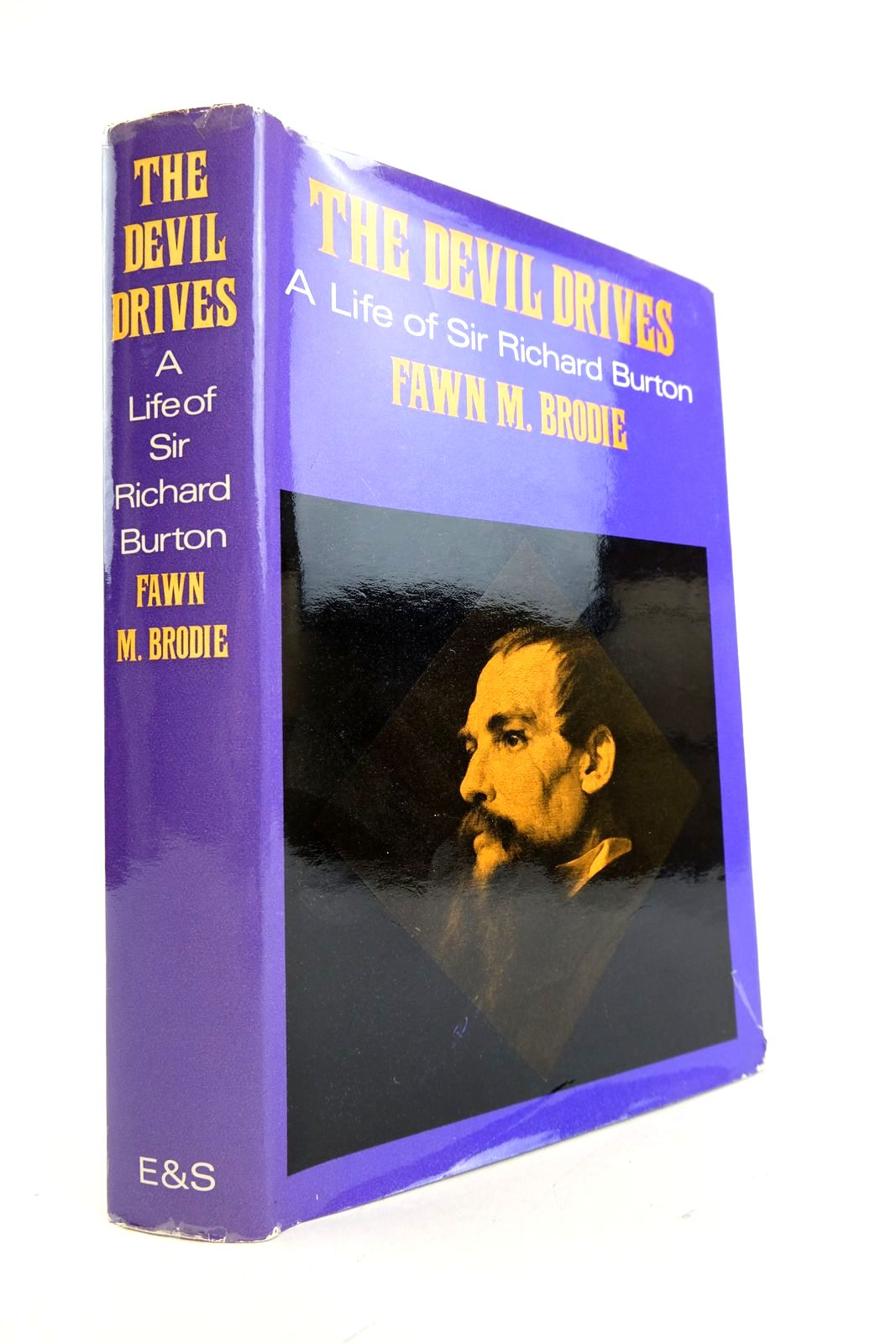 Photo of THE DEVIL DRIVES written by Brodie, Fawn M. published by Eyre & Spottiswoode (STOCK CODE: 2133334)  for sale by Stella & Rose's Books