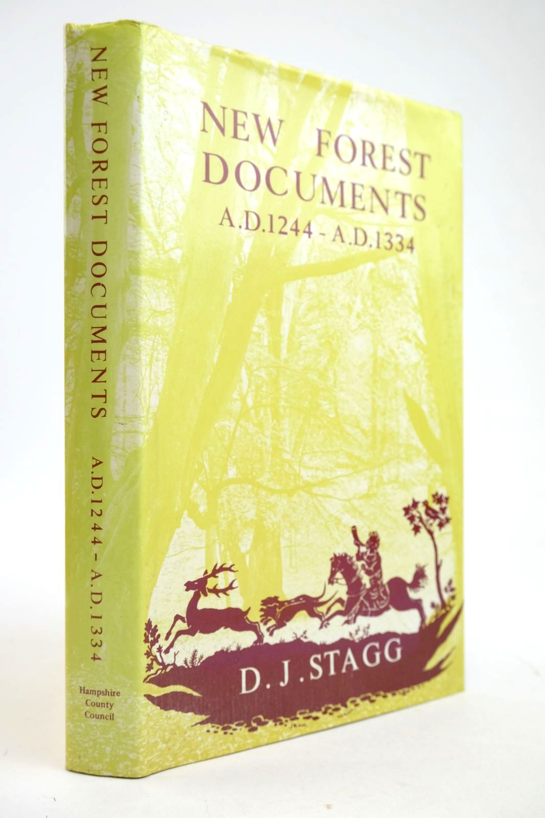 Photo of A CALENDAR OF NEW FOREST DOCUMENTS 1244-1334 written by Stagg, D.J. published by Hampshire County Council (STOCK CODE: 2133346)  for sale by Stella & Rose's Books