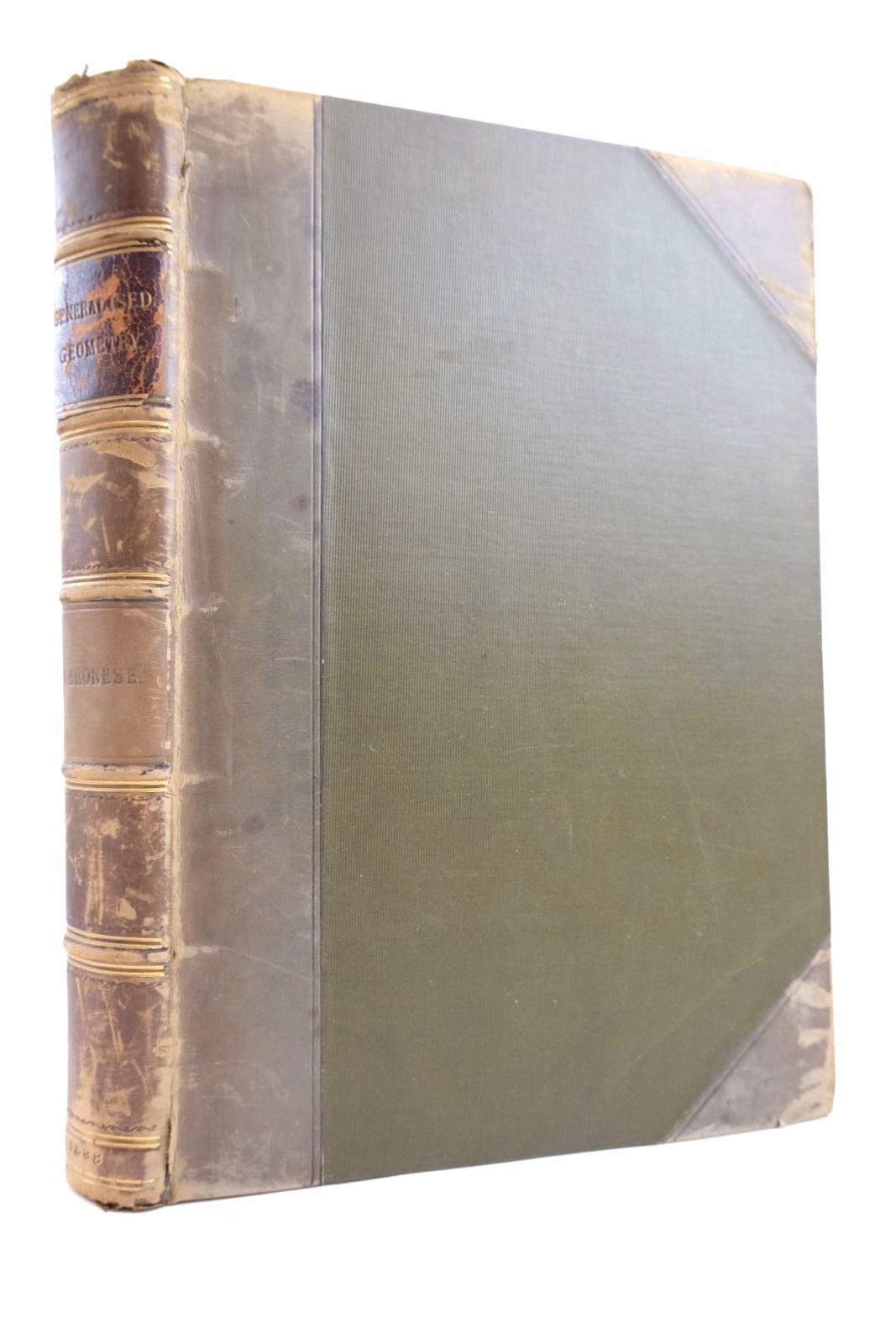 Photo of GRUNDZUGE DER GEOMETRIE VON MEHREREN DIMENSIONEN UND MEHREREN ARTEN GRADLINIGER EINHEITEN IN ELEMENTARER FORM ENTWICKELT written by Veronese, Giuseppe Schepp, A. published by Druck Und Verlag Von B.G. Teubner (STOCK CODE: 2133350)  for sale by Stella & Rose's Books