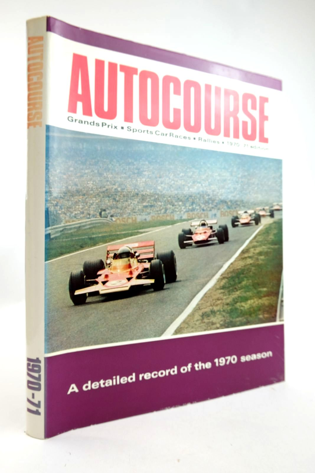 Photo of AUTOCOURSE 1970-71 written by Phipps, David published by The Haymarket Press (STOCK CODE: 2133352)  for sale by Stella & Rose's Books