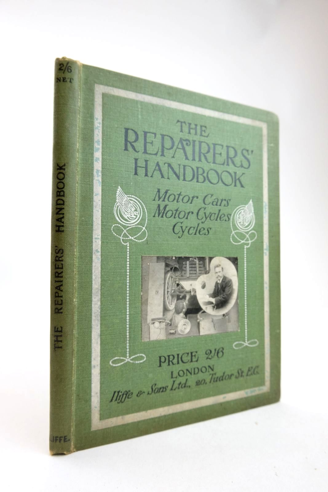 Photo of THE REPAIRERS' HANDBOOK MOTOR CARS, MOTOR CYCLES, CYCLES written by Corcutt, Wm. published by The Cycle & Motor Trades' Review (STOCK CODE: 2133368)  for sale by Stella & Rose's Books