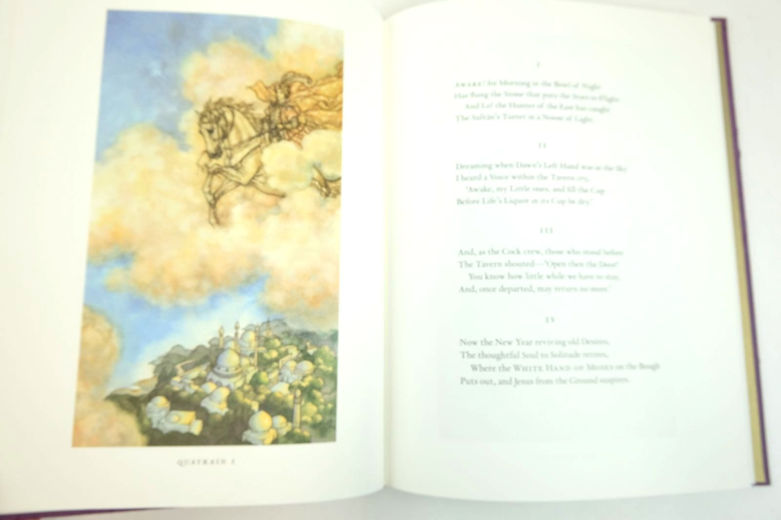 Photo of RUBAIYAT OF OMAR KHAYYAM written by Khayyam, Omar