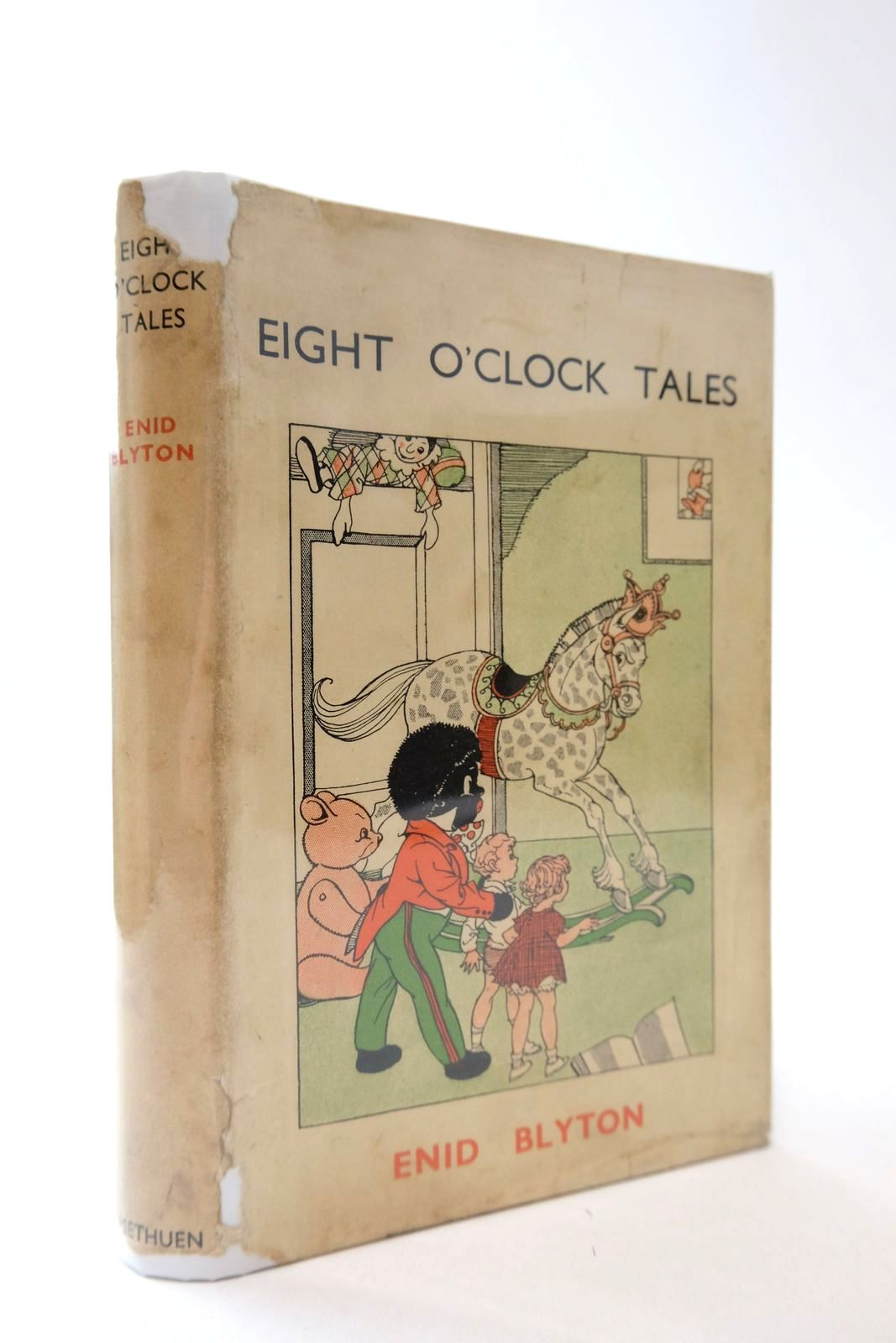 Photo of EIGHT O'CLOCK TALES written by Blyton, Enid illustrated by Wheeler, Dorothy M. published by Methuen & Co. Ltd. (STOCK CODE: 2133400)  for sale by Stella & Rose's Books
