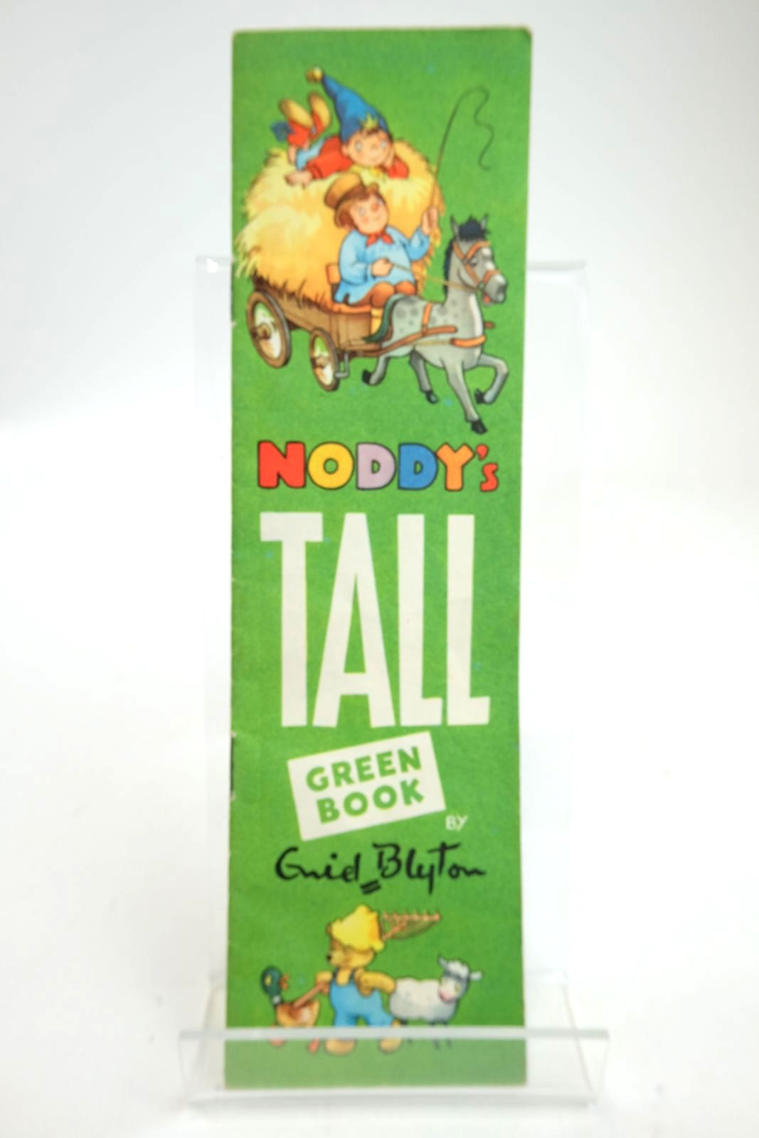 Photo of NODDY'S TALL GREEN BOOK written by Blyton, Enid illustrated by Tyndall, Robert published by Sampson Low, Marston & Co. Ltd. (STOCK CODE: 2133414)  for sale by Stella & Rose's Books