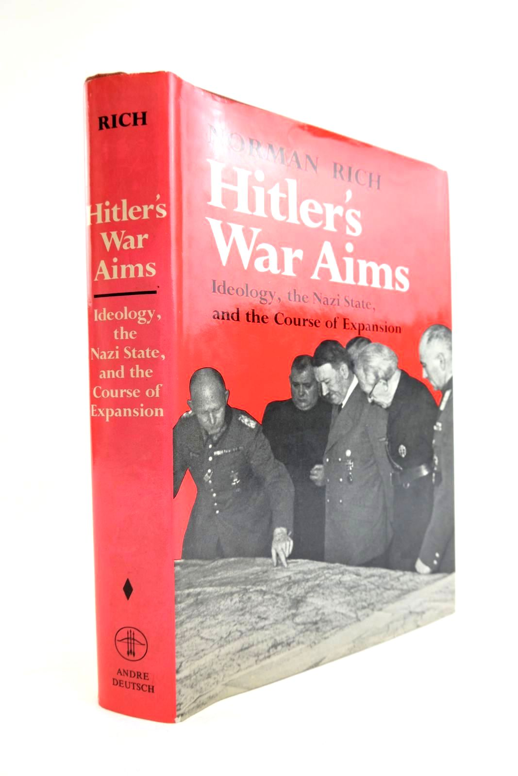 Photo of HITLER'S WAR AIMS written by Rich, Norman published by Andre Deutsch (STOCK CODE: 2133428)  for sale by Stella & Rose's Books