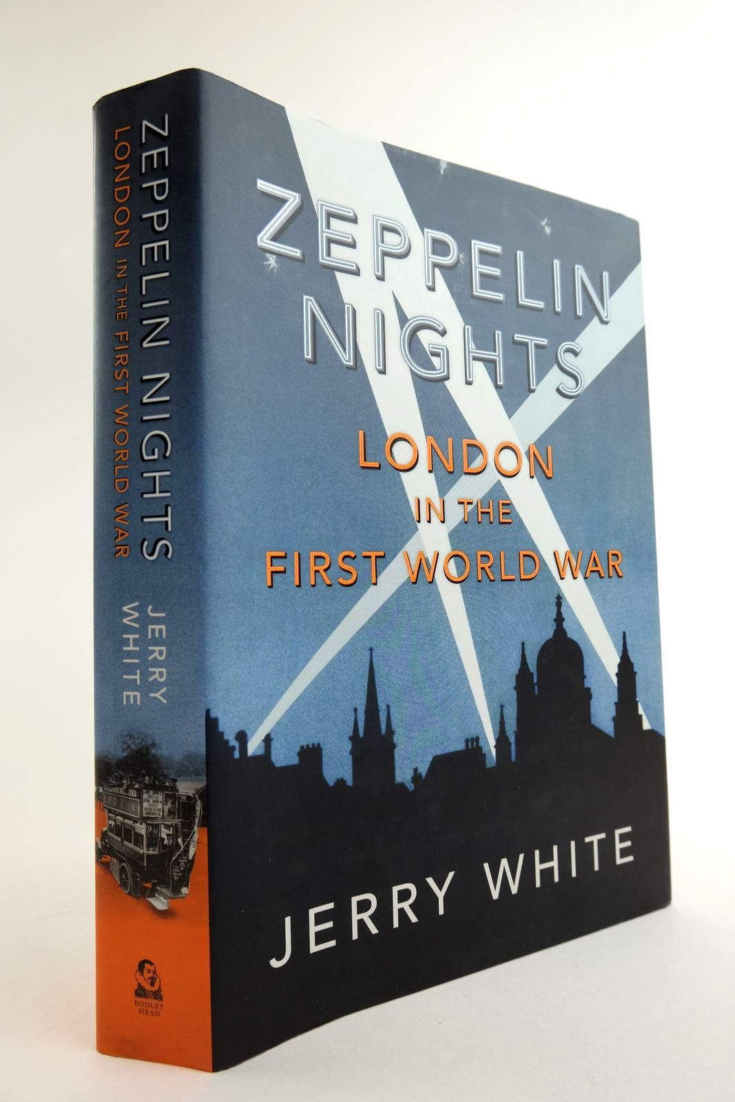 Photo of ZEPPELIN NIGHTS written by White, Jerry published by The Bodley Head (STOCK CODE: 2133430)  for sale by Stella & Rose's Books