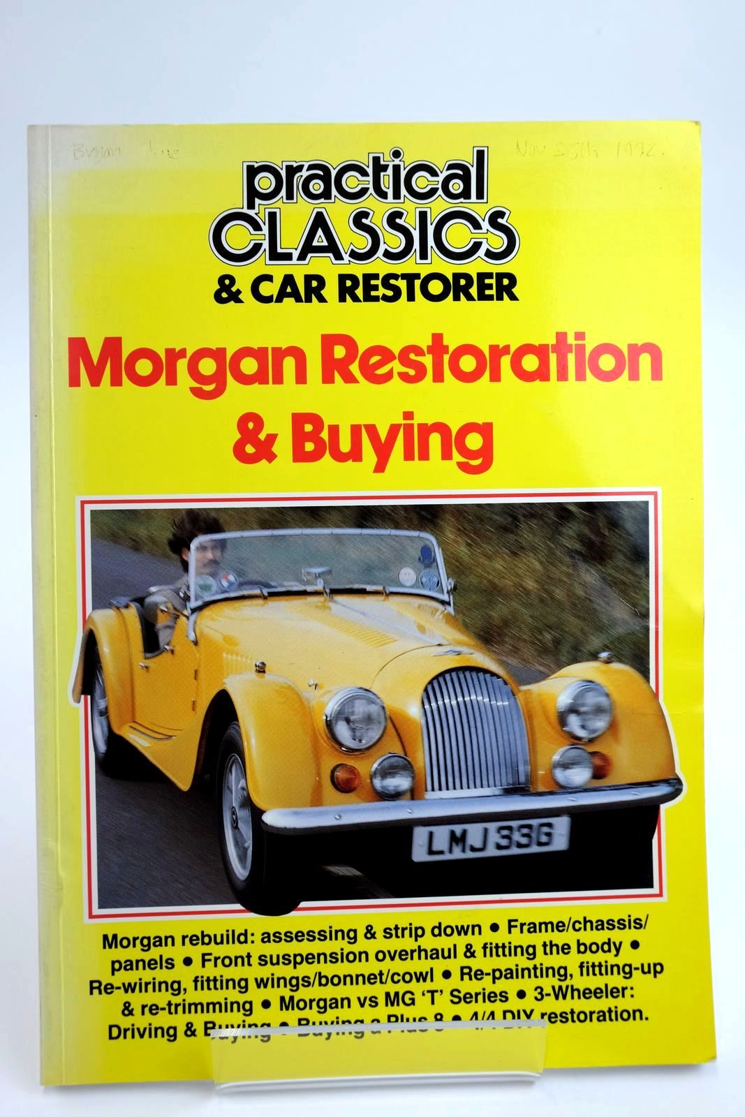 Photo of PRACTICAL CLASSICS & CAR RESTORERS: MORGAN RESTORATION & BUYING published by Kelsey Publishing Ltd (STOCK CODE: 2133448)  for sale by Stella & Rose's Books